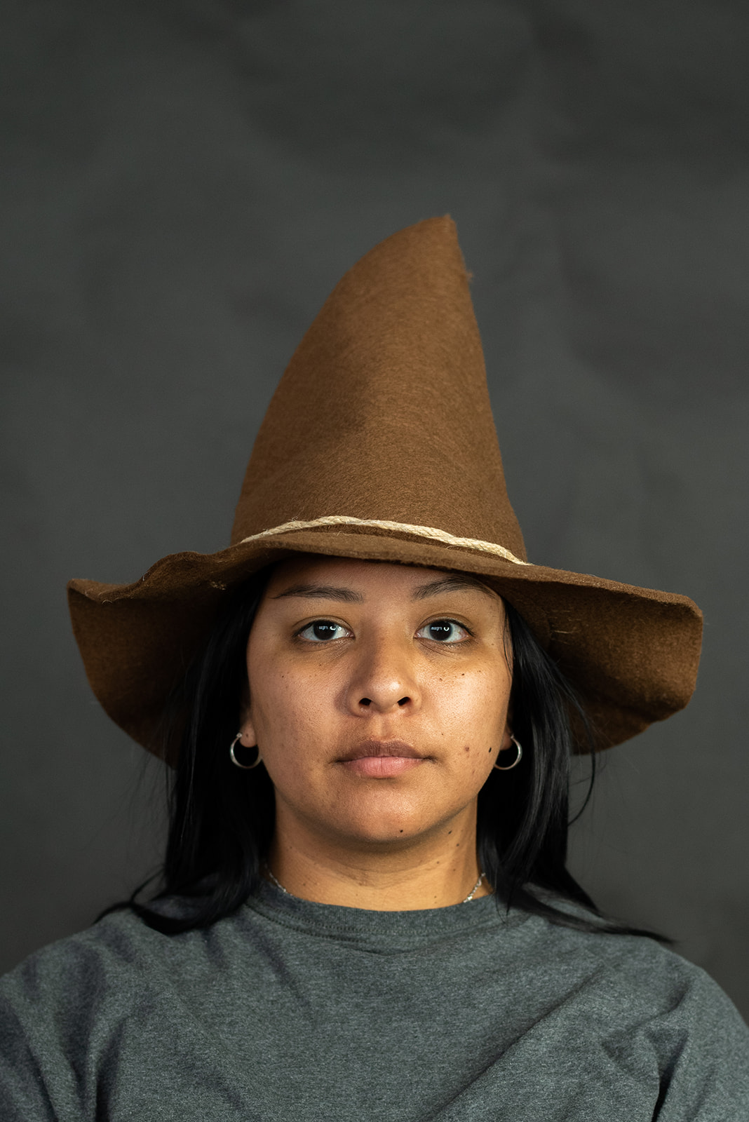 thumbnail 12 - Adult Scarecrow Hat Deluxe Felt Oktoberfest Wizard Witch Hillbilly Hat Costume
