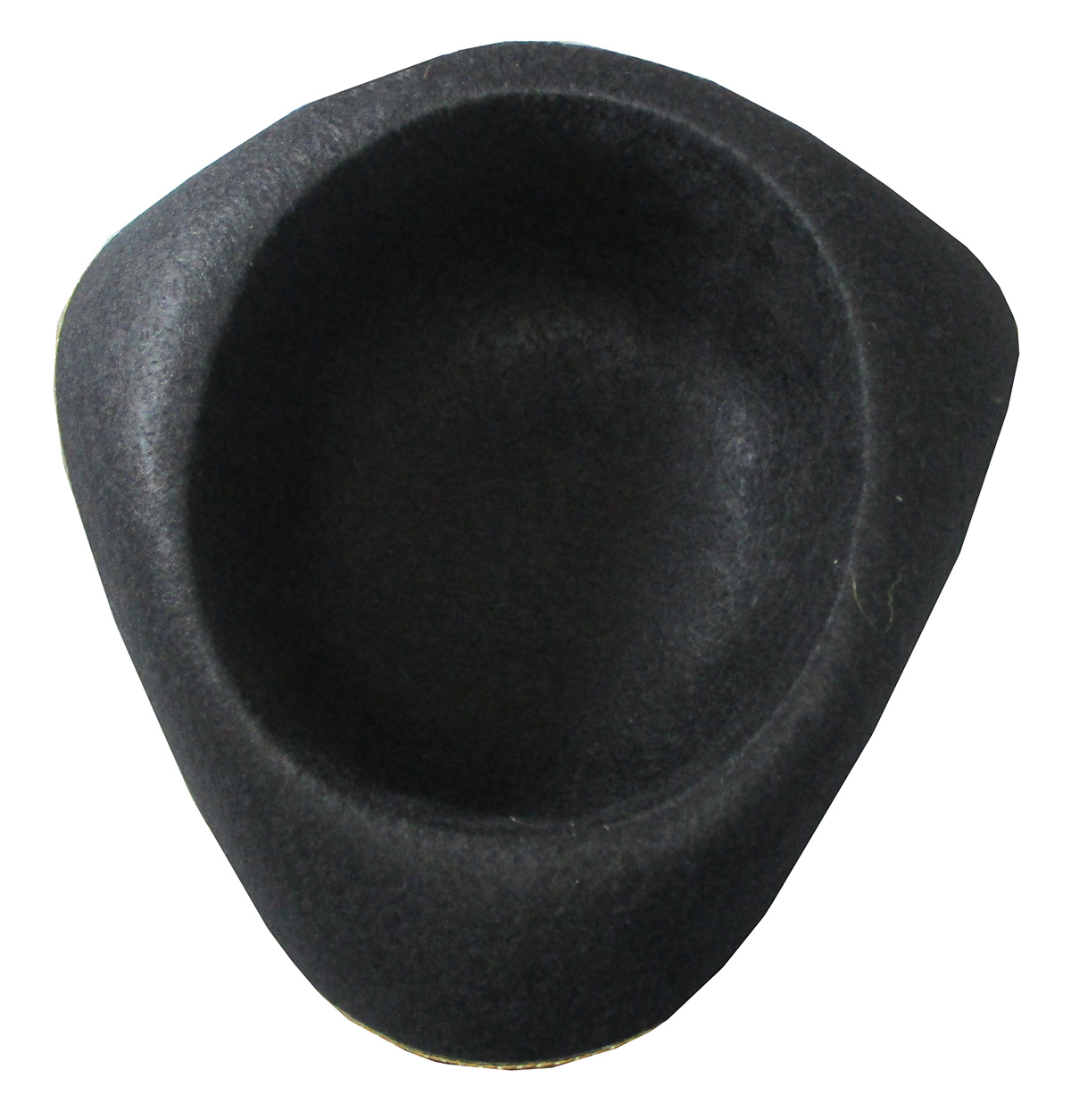 thumbnail 5 - Tri-Corner-Felt-Pirate-Hat-Large-Black