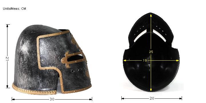 thumbnail 17 - Silver Pewter Knight Roman Armor Crusader Helmet Mask Medieval Adult Costume
