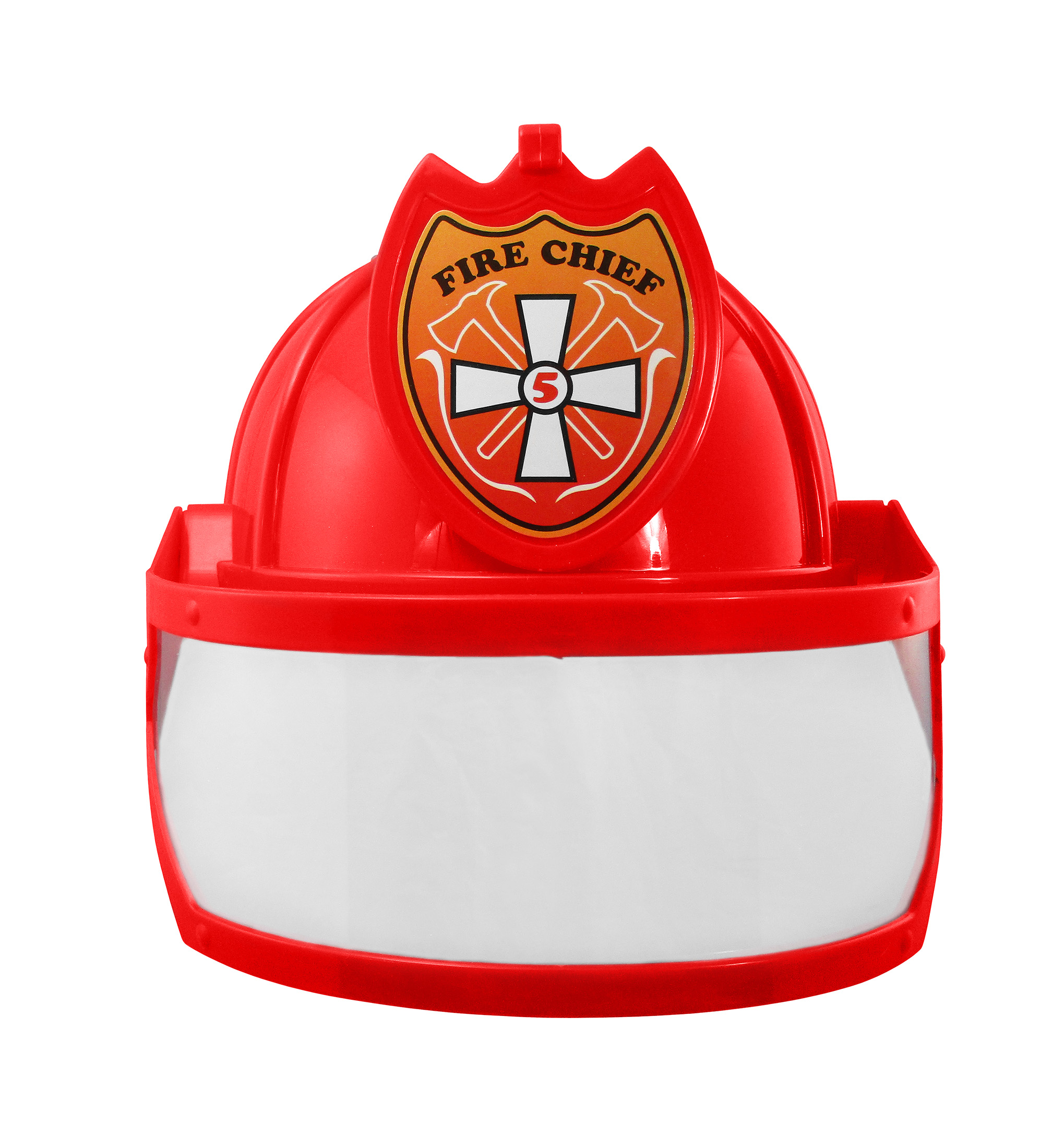 thumbnail 12 - Adult Child Fire Chief Firefighter Fireman Helmet with Visor Costume