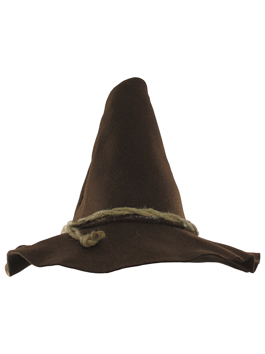 thumbnail 9 - Adult Scarecrow Hat Deluxe Felt Oktoberfest Wizard Witch Hillbilly Hat Costume