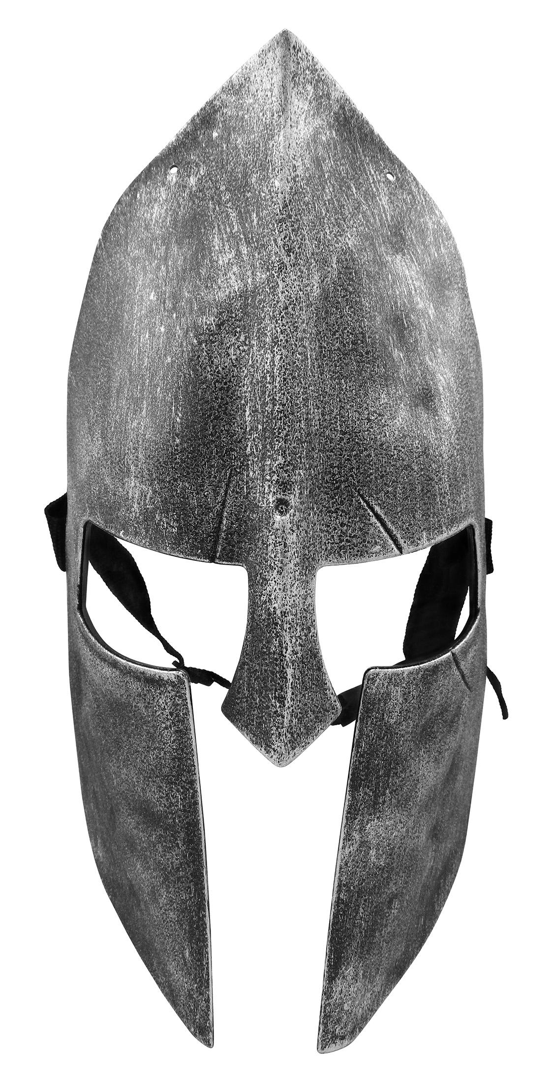 thumbnail 8 - Medieval Iron Knight Spartan Helmet Face Mask Roman Warrior Greek Costume