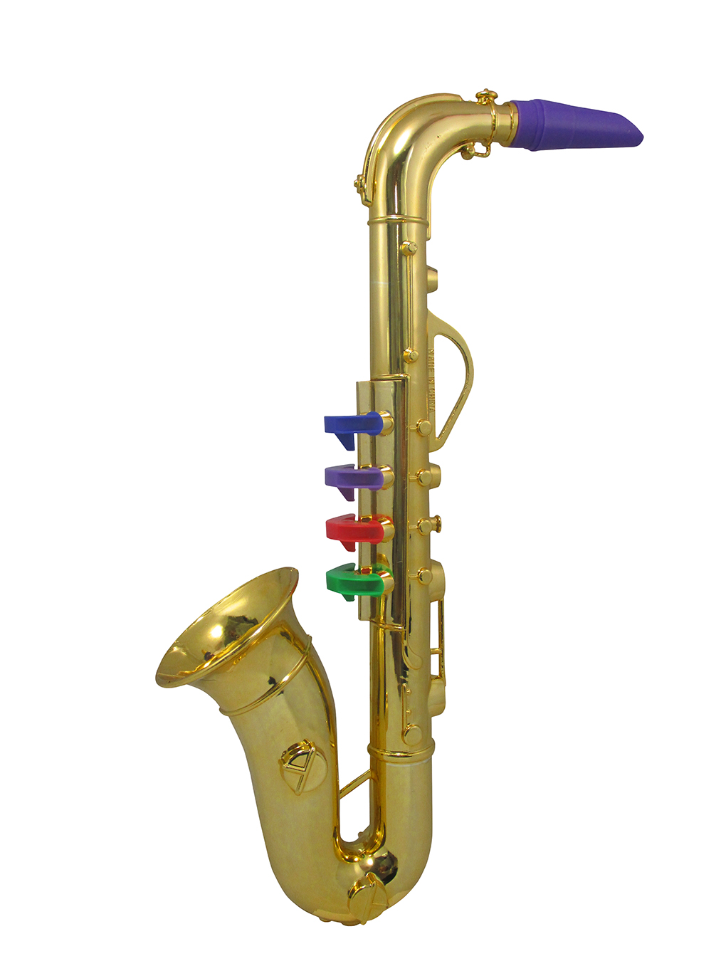 Childrens-Musical-Toy-Saxophone-Real-Sound-4-Keys-Easy-Learning-Gold-Silver-Prop thumbnail 3