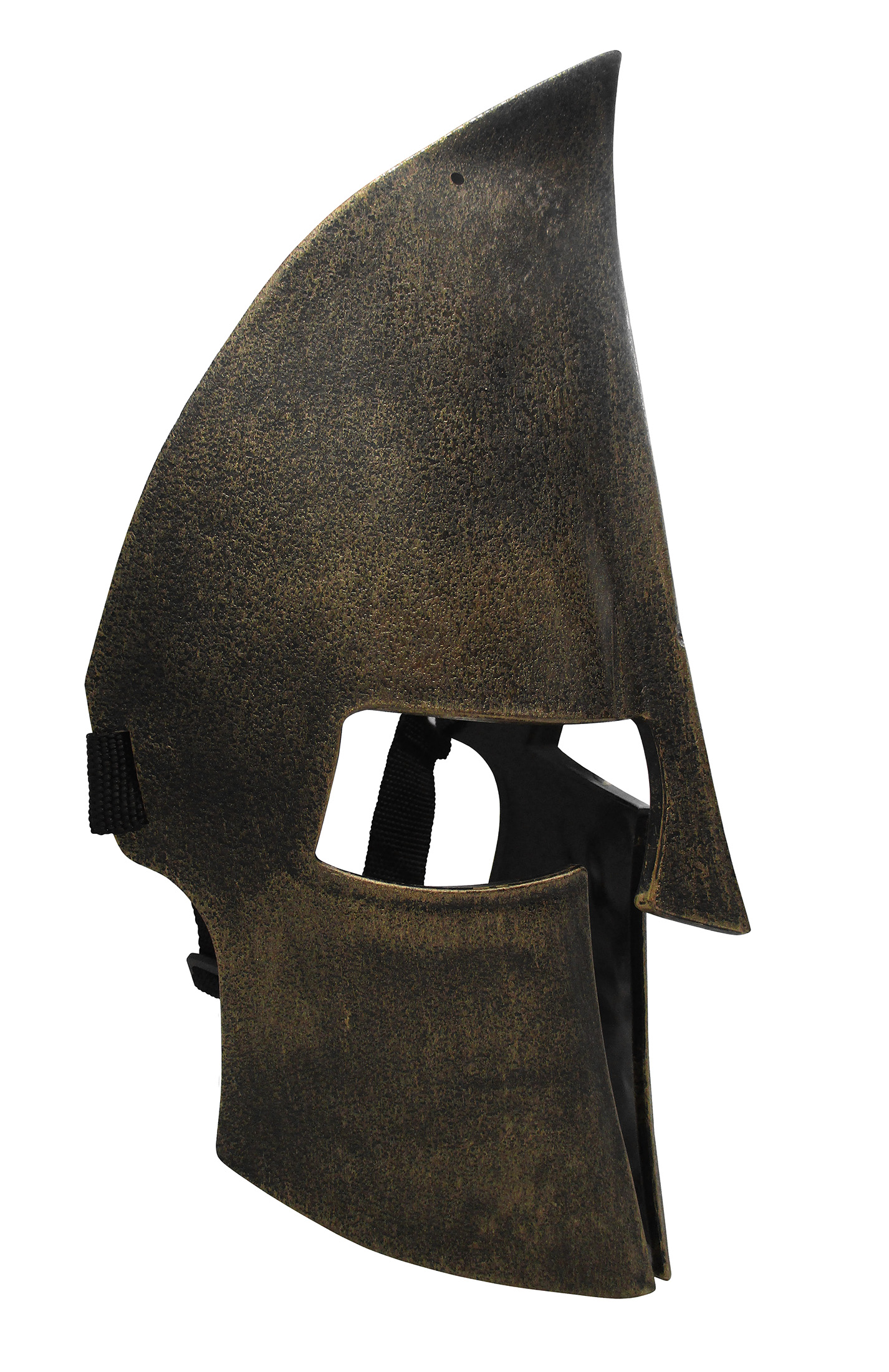thumbnail 4 - Medieval Iron Knight Spartan Helmet Face Mask Roman Warrior Greek Costume