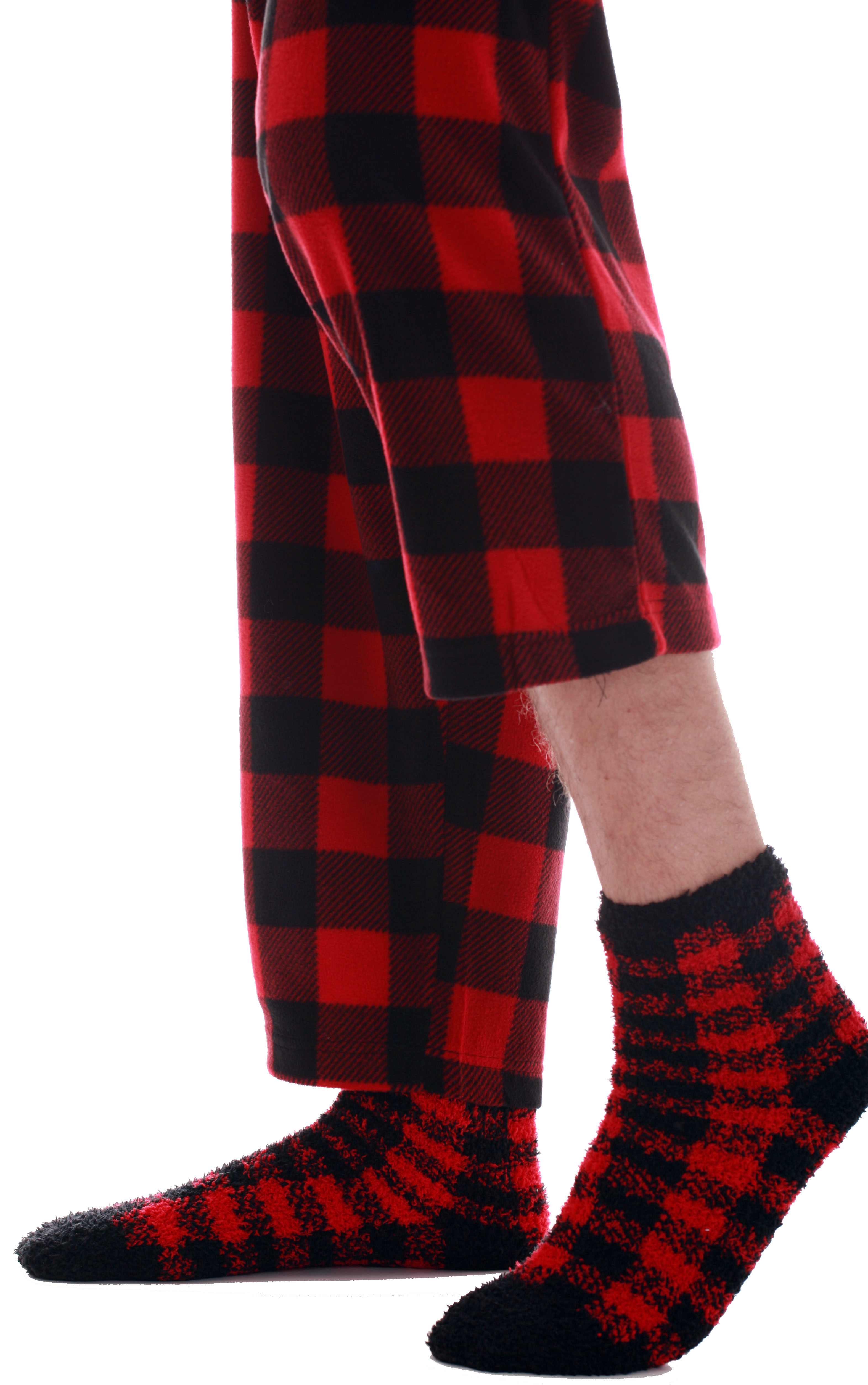 #followme Buffalo Plaid Matching Christmas Pajamas for Family