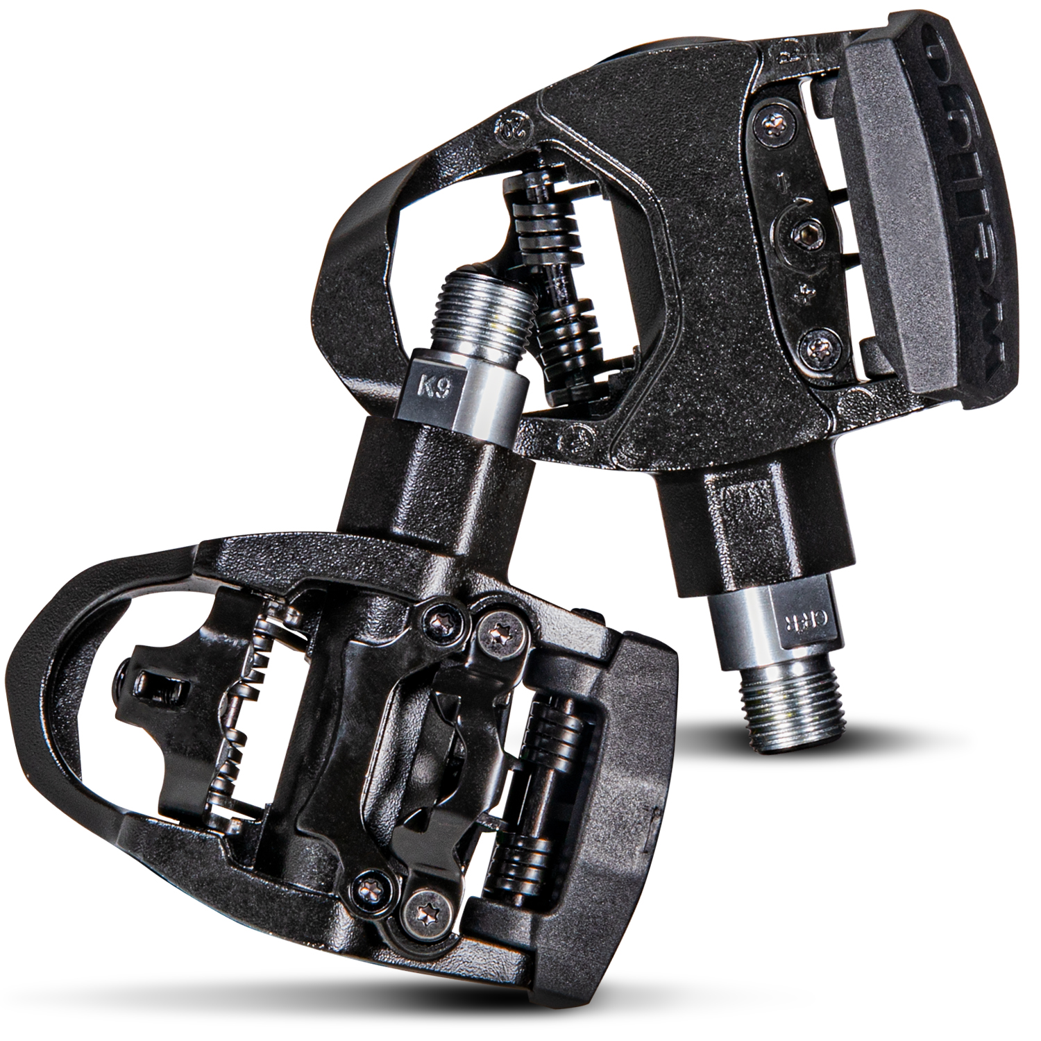 Z ZOL Wellgo Road and Indoor Cycling Pedals Compatbile with Peloton Bike