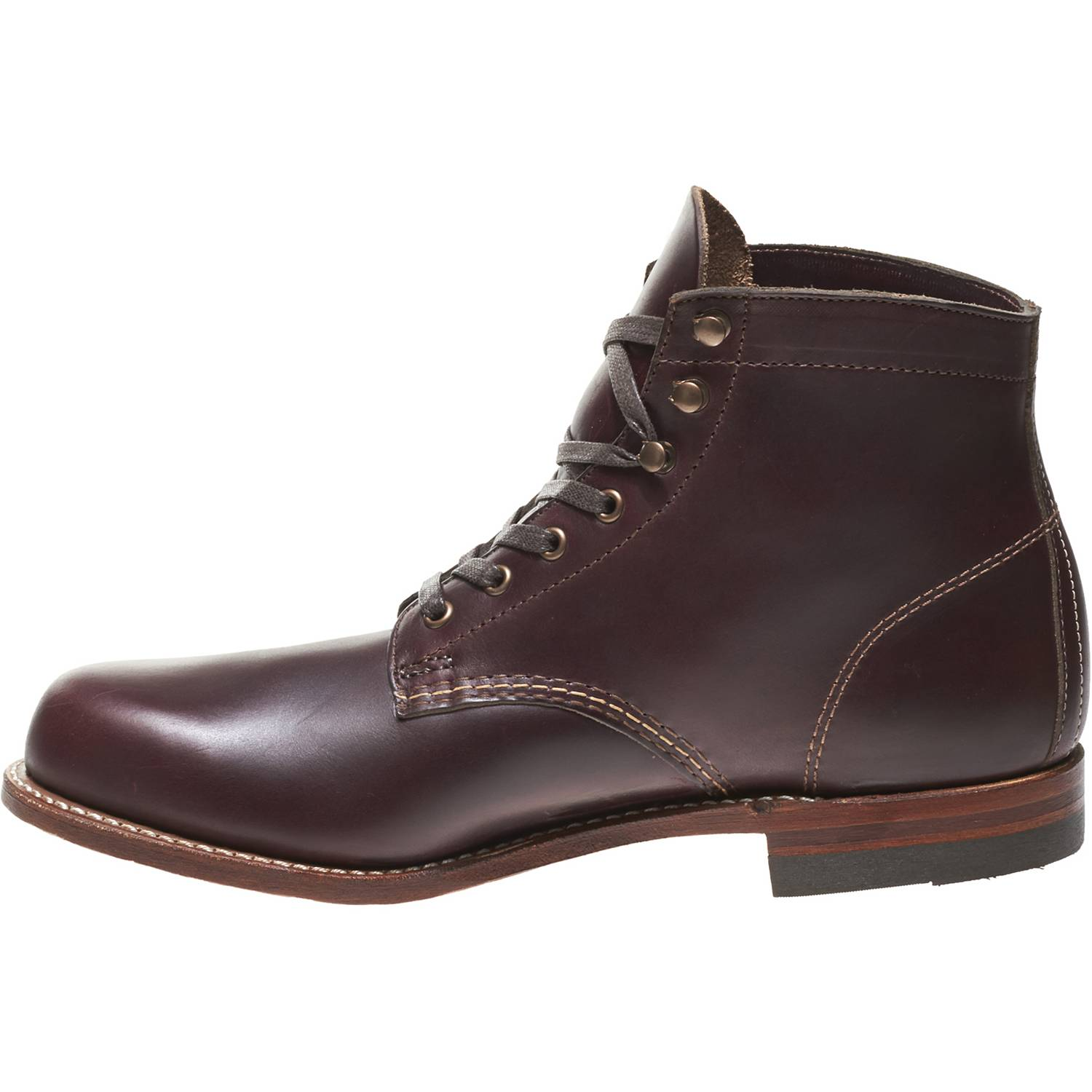 Wolverine-1000-Mile-Men-039-s-Leather-Boots-Cordovan-8-Black-Brown-Rust thumbnail 13