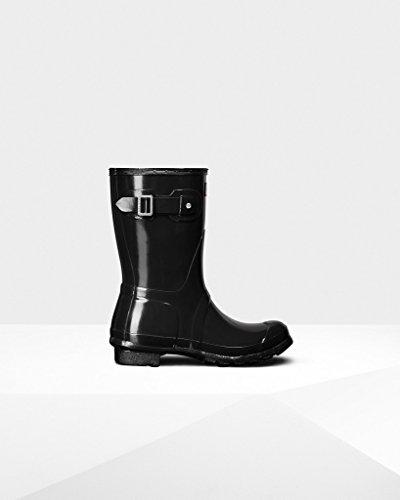 Hunter-WFS1000RGL-Women-039-s-Original-Short-Gloss-Boots-All-Colors thumbnail 4