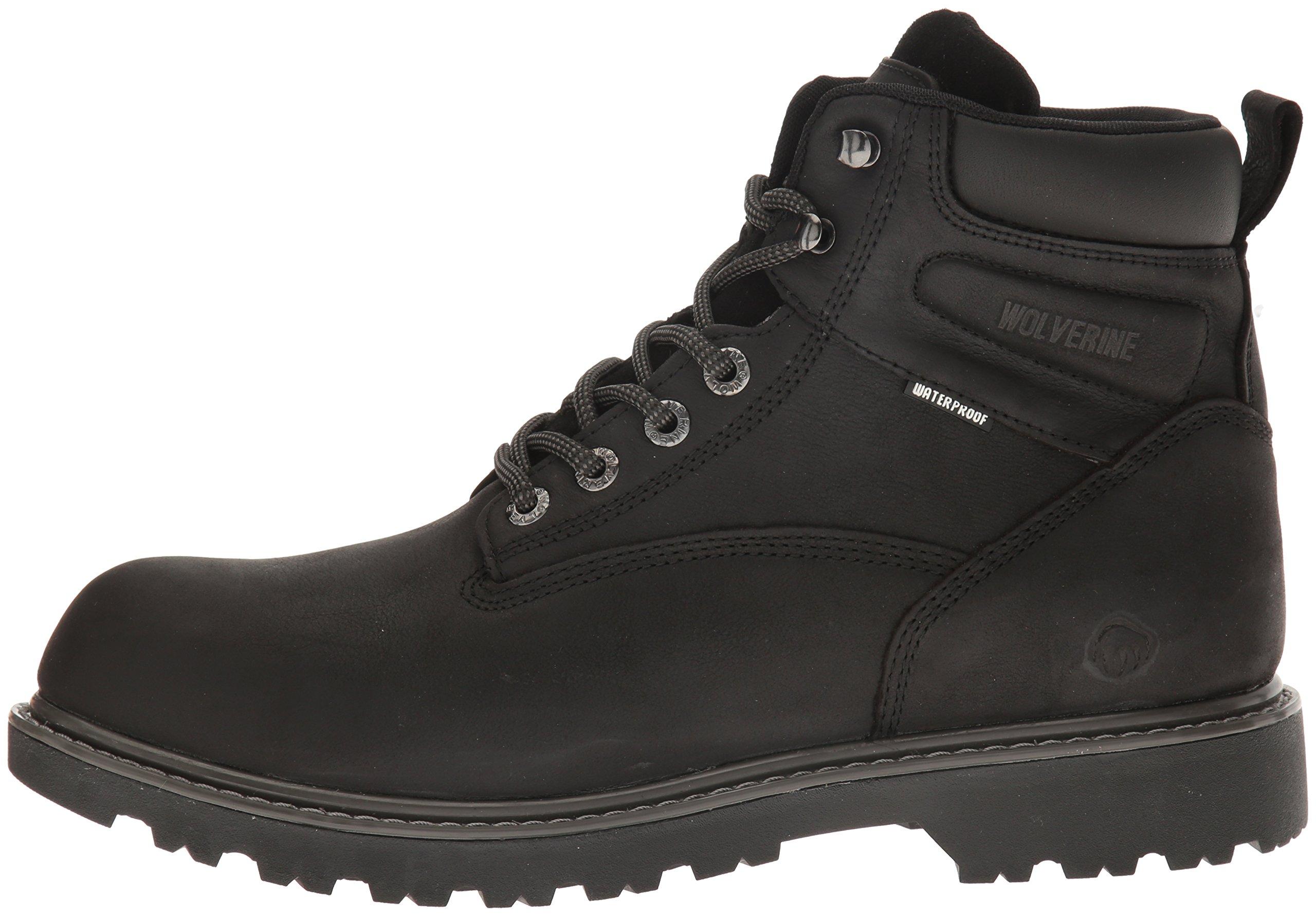 "Wolverine Men/'s Soft Toe Floorhand Waterproof 6/"" Work Boots All Colors"