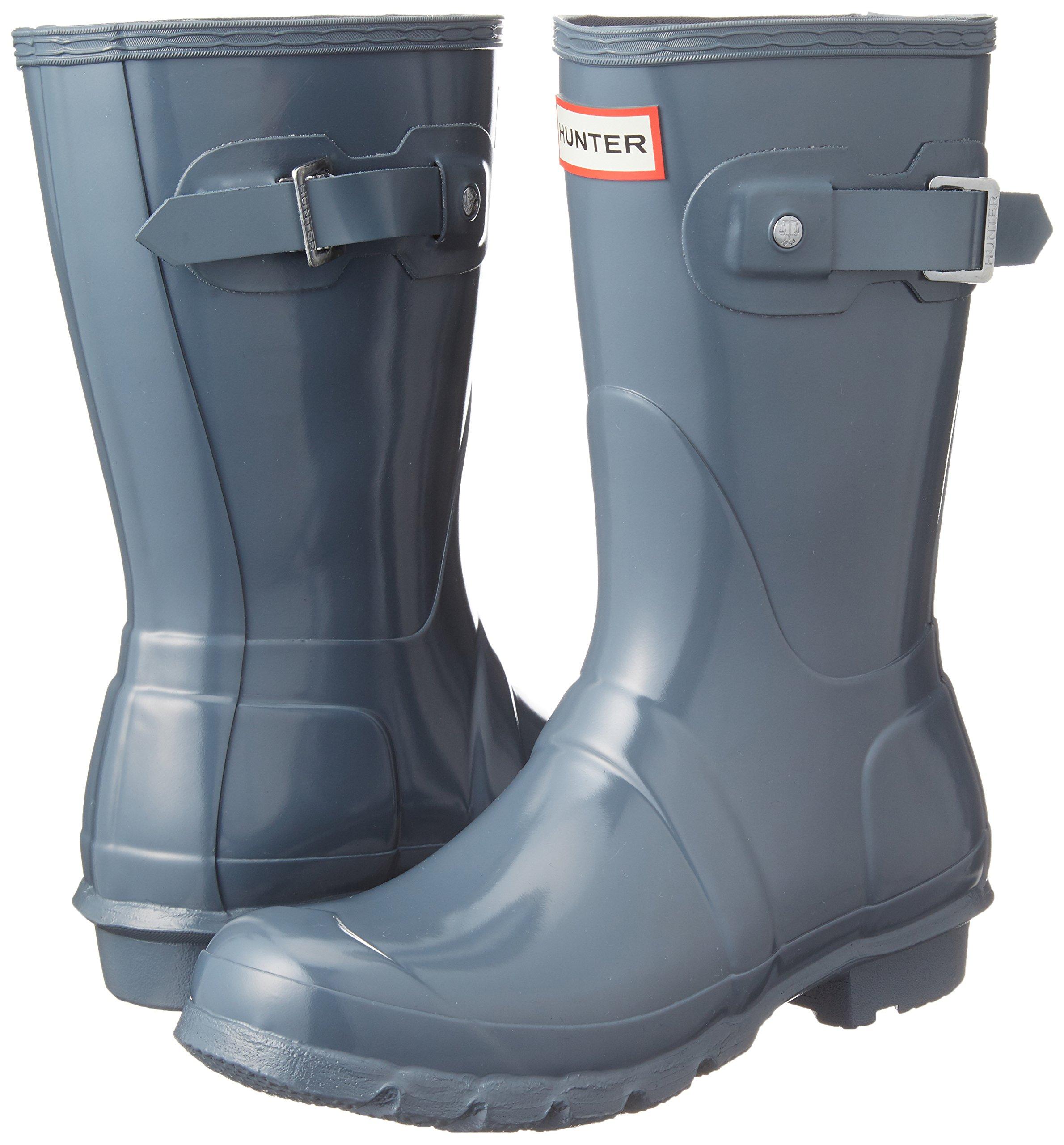 Hunter-WFS1000RGL-Women-039-s-Original-Short-Gloss-Boots-All-Colors thumbnail 16