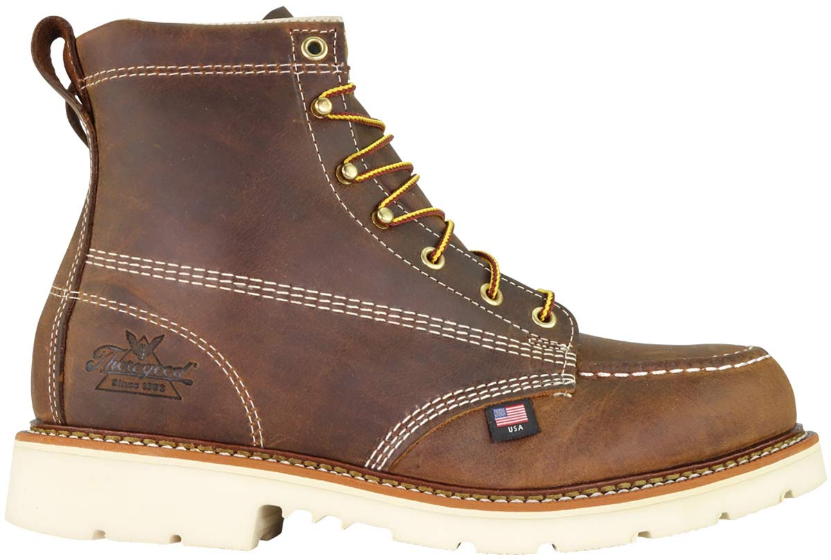 Thorogood-American-Heritage-Men-039-s-6-034-Moc-Toe-MaxWear90-Steel-Toed-Safety-Boot thumbnail 4