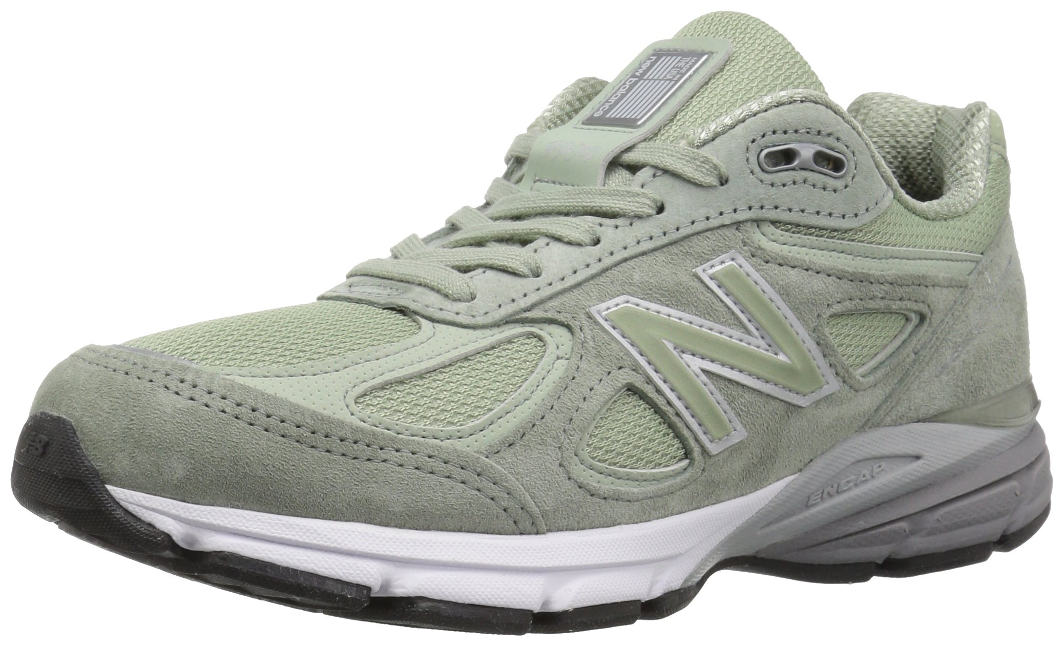 Details about New Balance W990SM4: Women's 990v4 Silver Mint Running Shoe