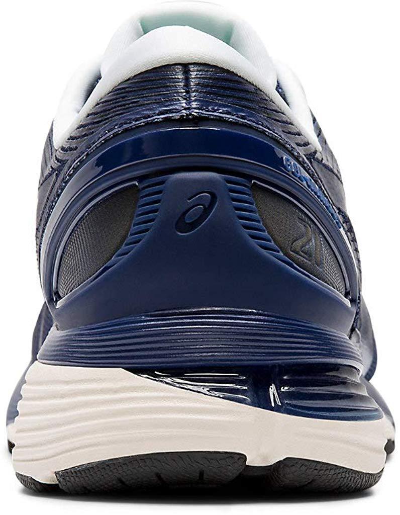ASICS-1011A169-003-Men-039-s-Gel-Nimbus-21-Black-Lemon-Spark-Running-Shoe miniatura 15