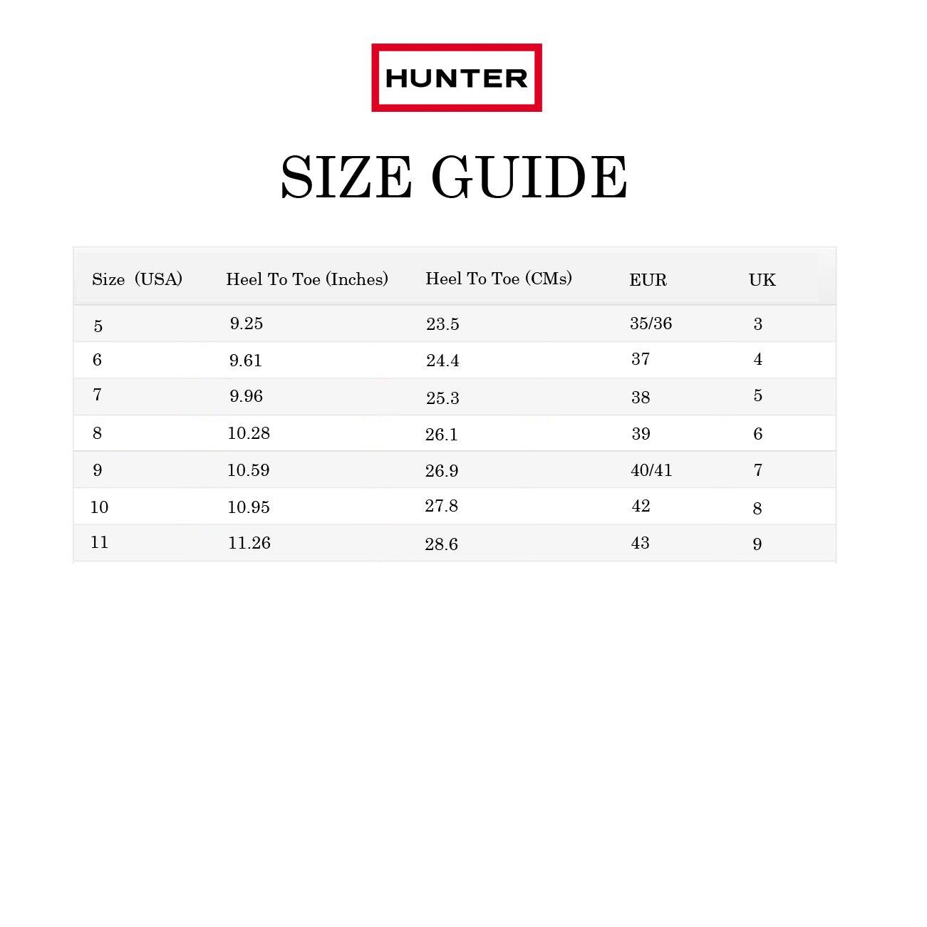 Hunter-WFS1000RGL-Women-039-s-Original-Short-Gloss-Boots-All-Colors thumbnail 24