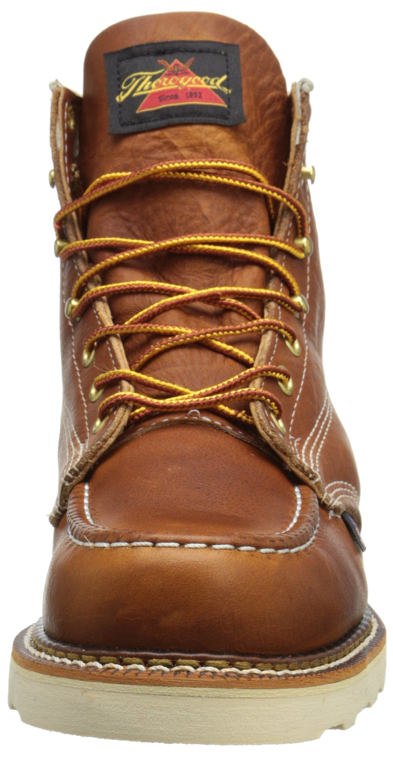 Thorogood-American-Heritage-Men-039-s-6-034-Moc-Toe-Max-Wedge-Non-Safety-Boots thumbnail 20