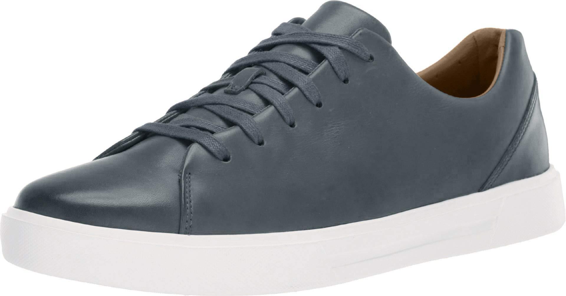Men's Un Costa Lace Slate Blue Leather