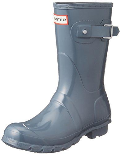Hunter-WFS1000RGL-Women-039-s-Original-Short-Gloss-Boots-All-Colors thumbnail 14
