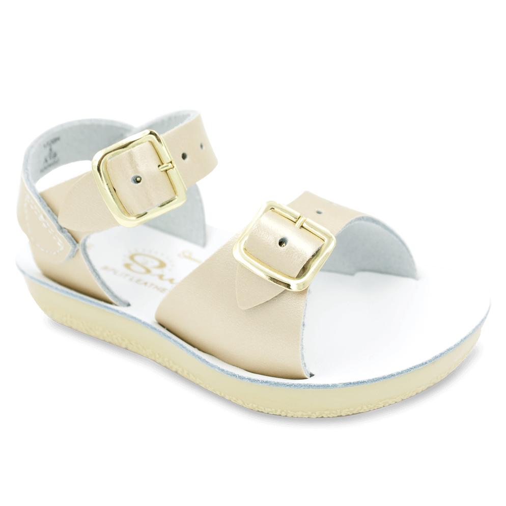by Hoy Originals Gold Little Kids Sandals Salt Water 1720-GOLD