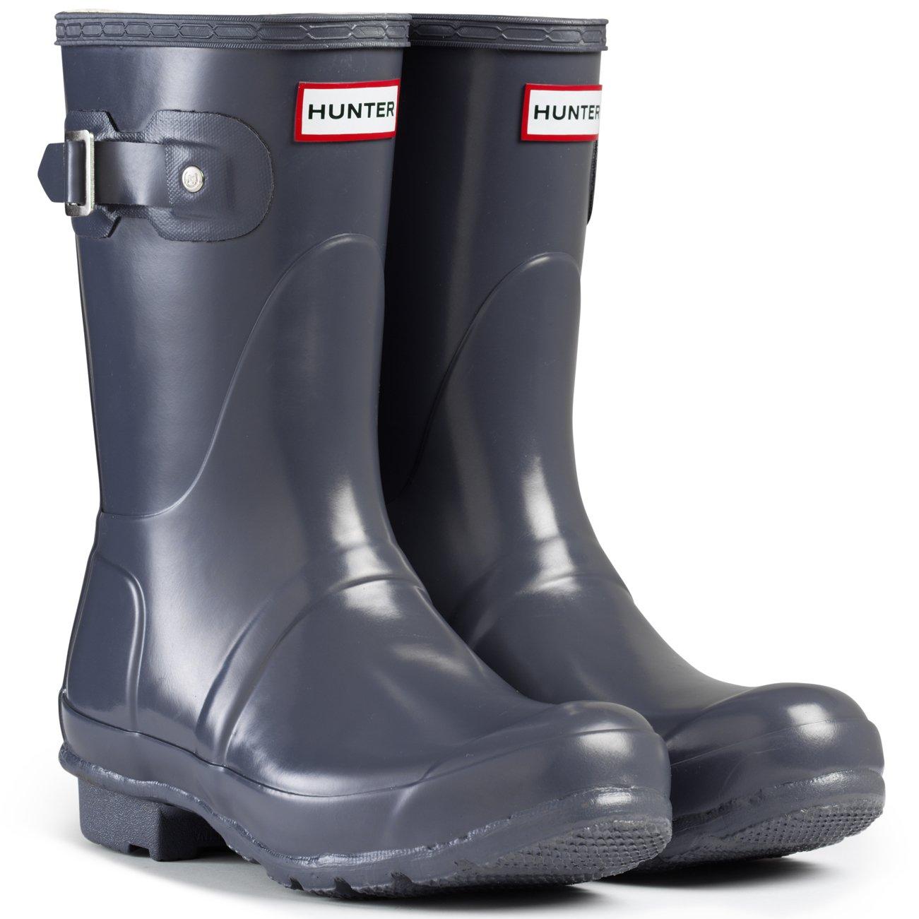Hunter-WFS1000RGL-Women-039-s-Original-Short-Gloss-Boots-All-Colors thumbnail 21