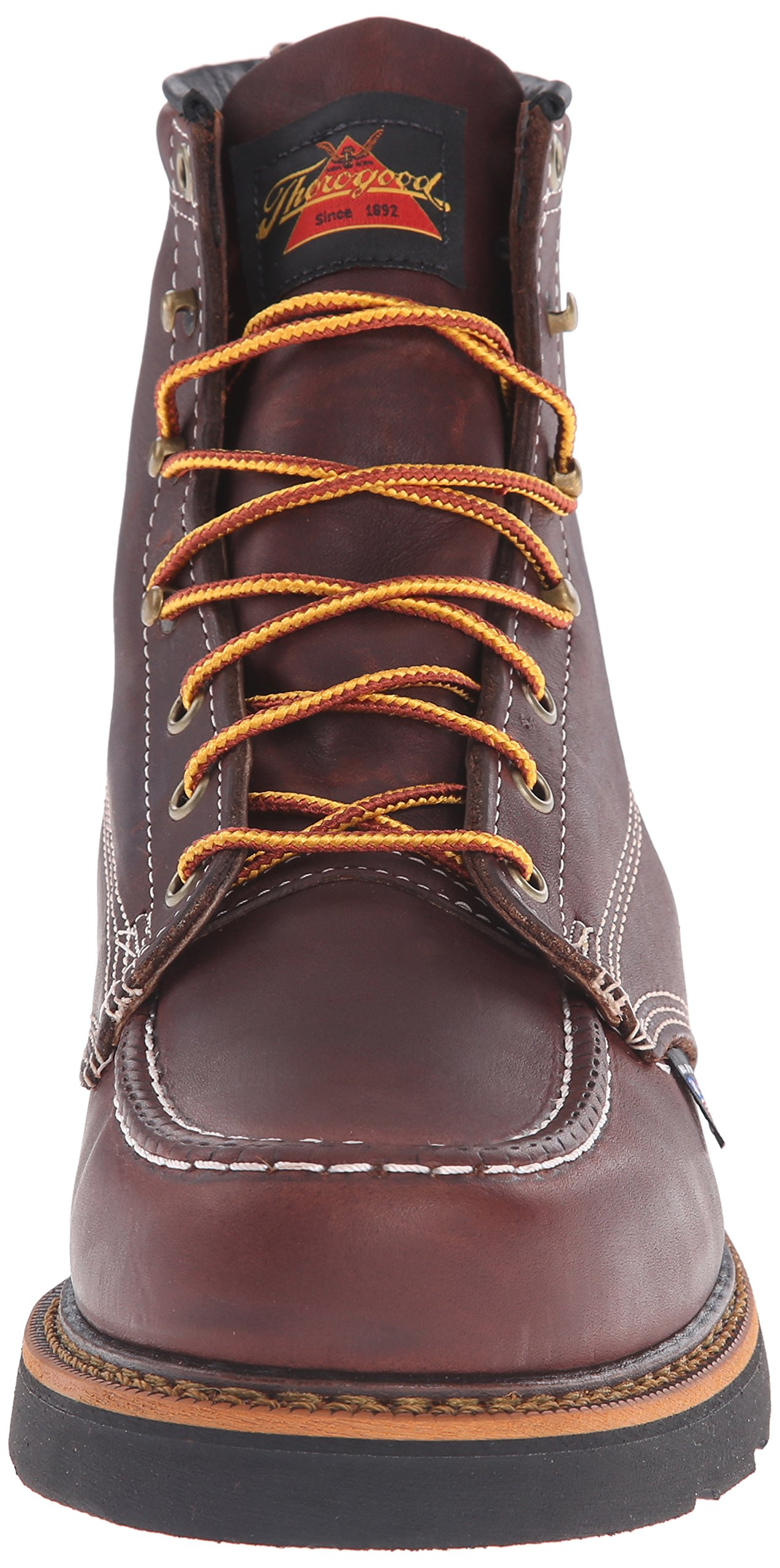Thorogood-American-Heritage-Men-039-s-6-034-Moc-Toe-Max-Wedge-Non-Safety-Boots thumbnail 9