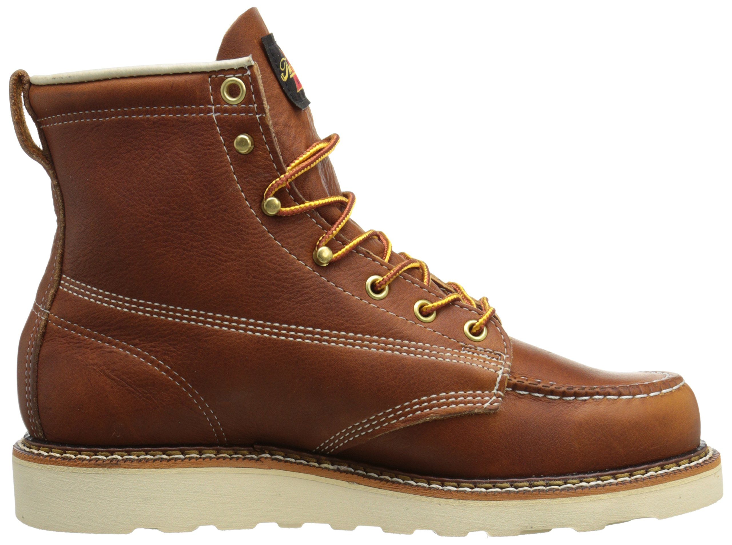 Thorogood-American-Heritage-Men-039-s-6-034-Moc-Toe-Max-Wedge-Non-Safety-Boots thumbnail 23
