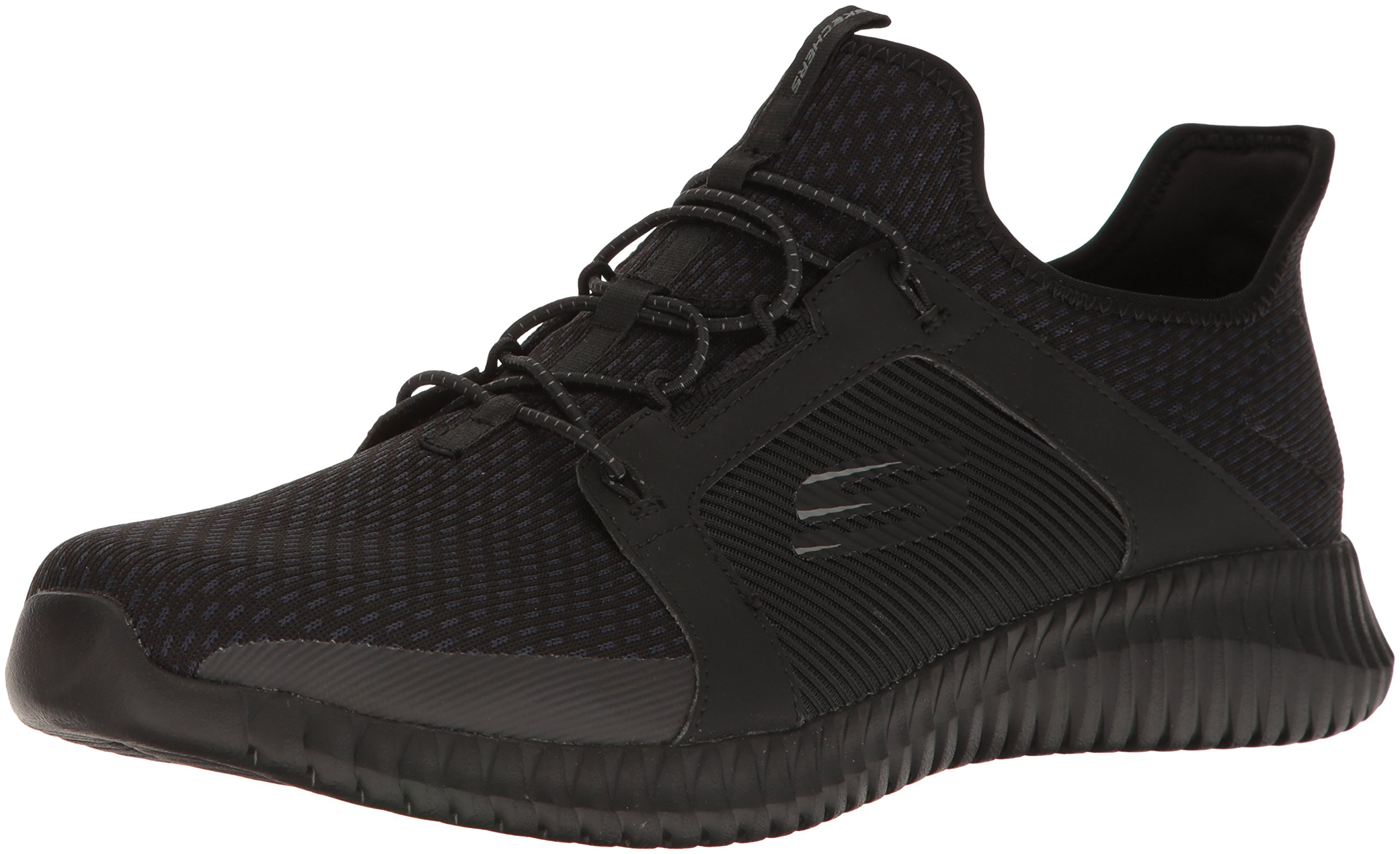Details about Skechers 52640 BBK: Men's Elite Flex Black Sneaker