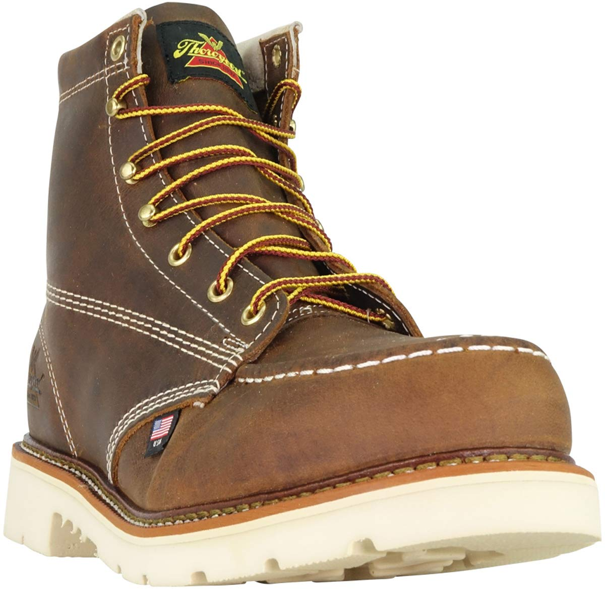 Thorogood-American-Heritage-Men-039-s-6-034-Moc-Toe-MaxWear90-Steel-Toed-Safety-Boot thumbnail 3