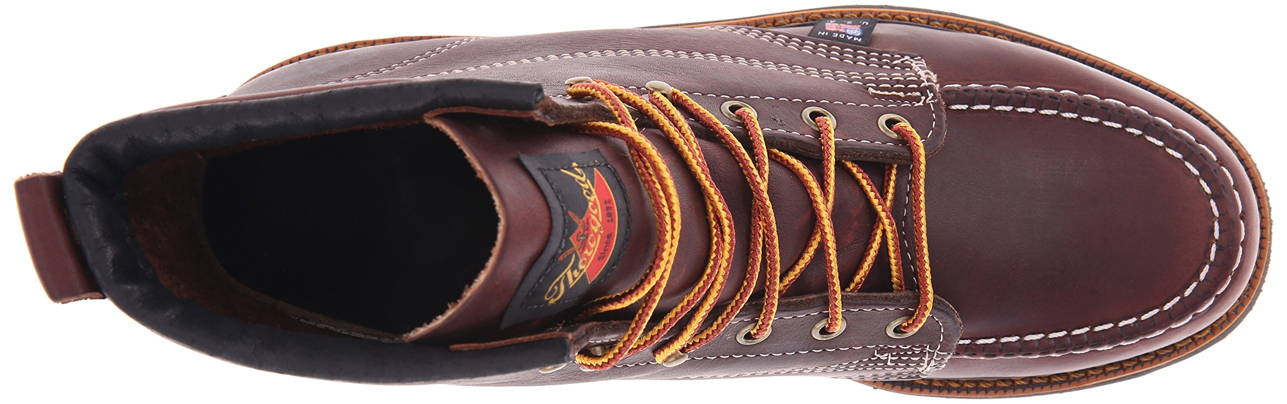 Thorogood-American-Heritage-Men-039-s-6-034-Moc-Toe-Max-Wedge-Non-Safety-Boots thumbnail 14