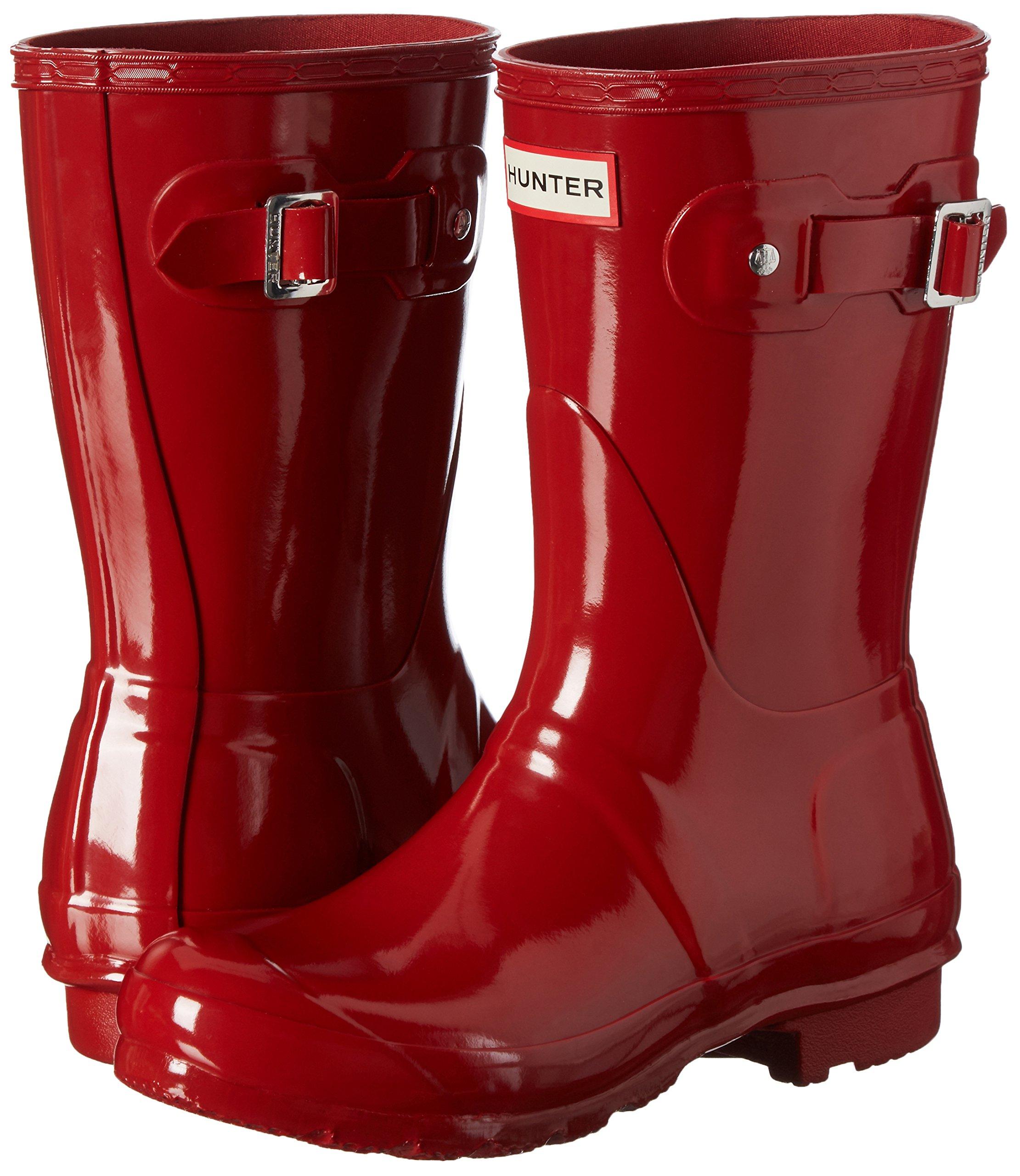 Hunter-WFS1000RGL-Women-039-s-Original-Short-Gloss-Boots-All-Colors thumbnail 29