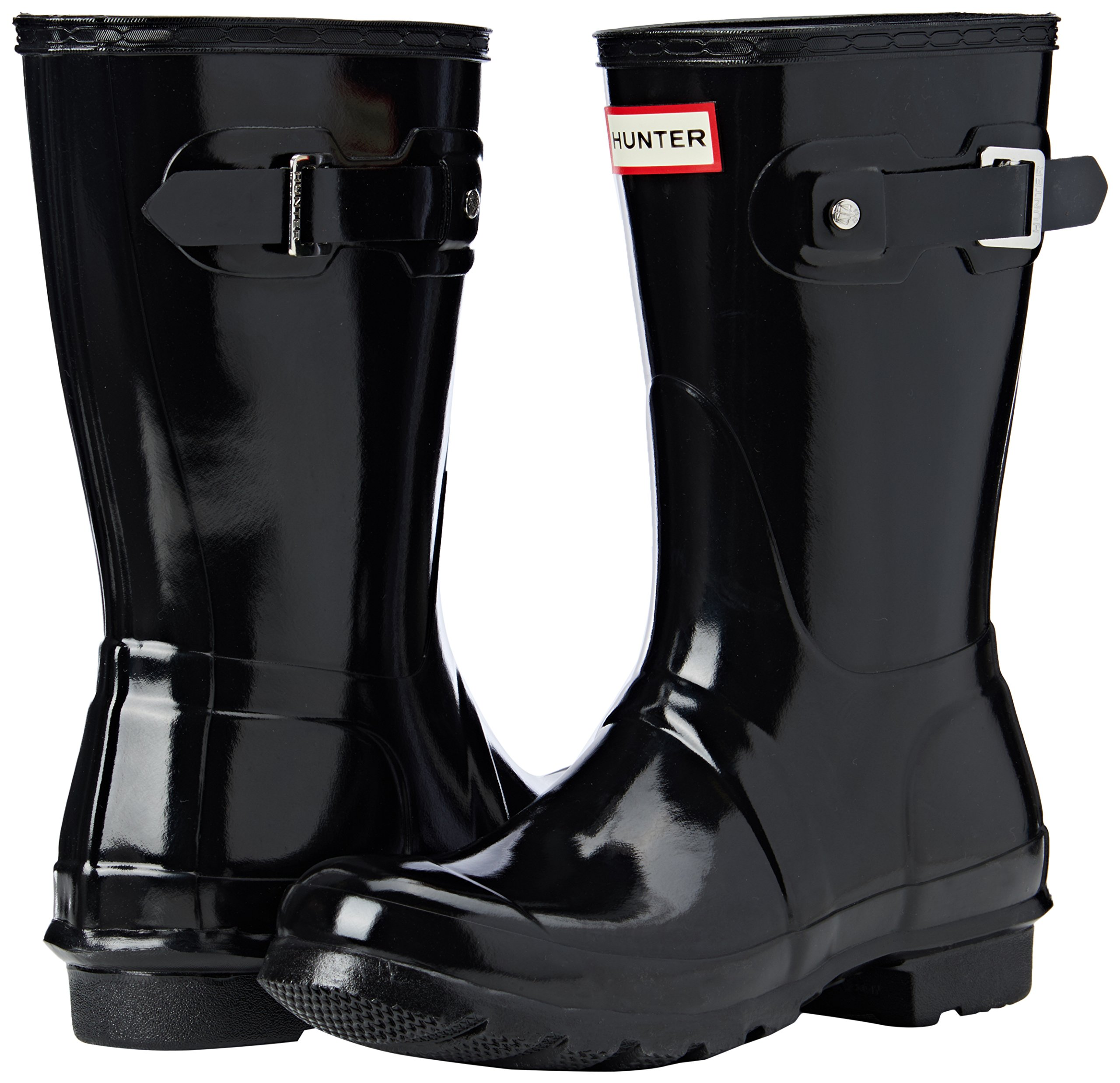 Hunter-WFS1000RGL-Women-039-s-Original-Short-Gloss-Boots-All-Colors thumbnail 8