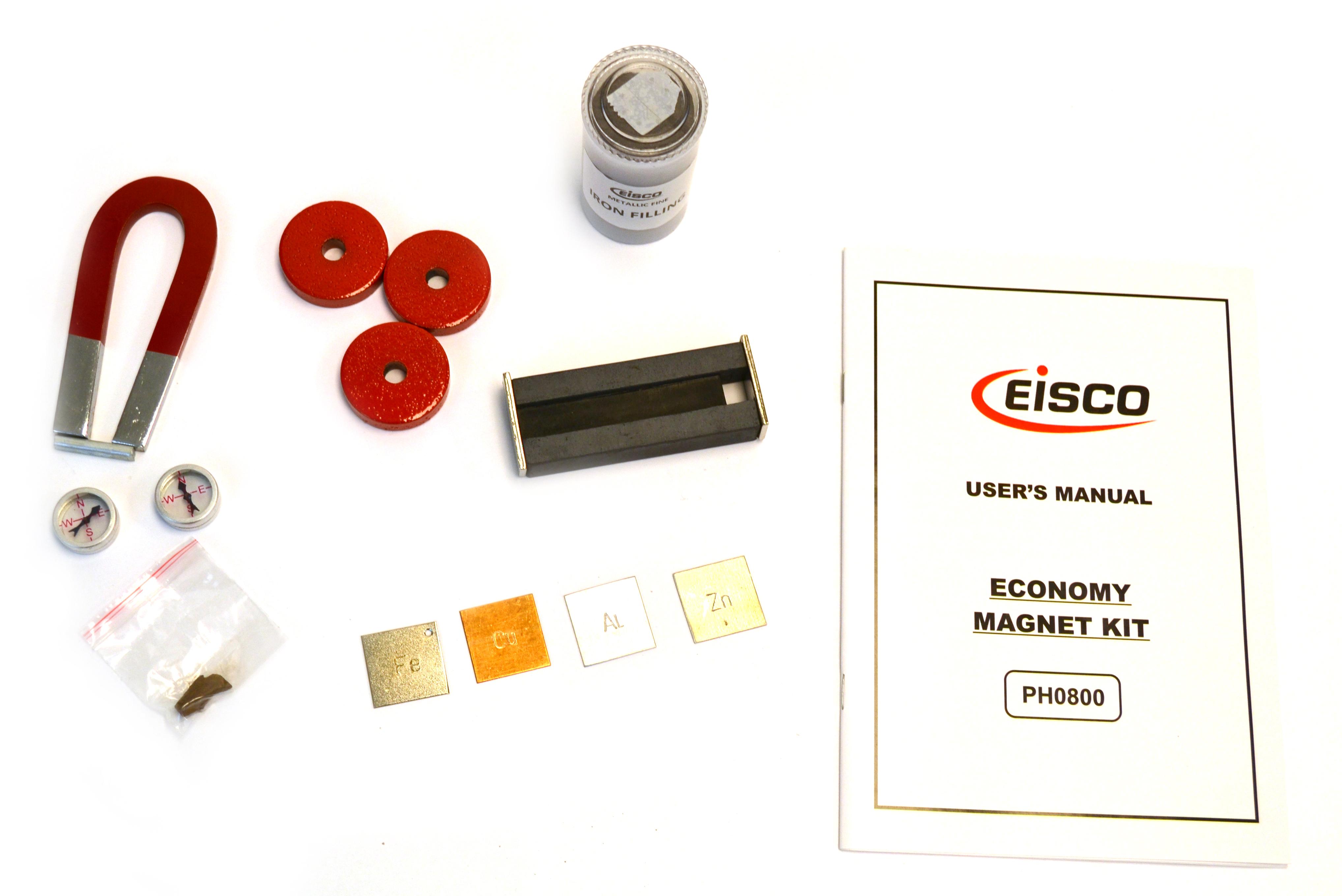 U Magnet 3 x 1 1//2 Alnico Eisco Labs Horseshoe