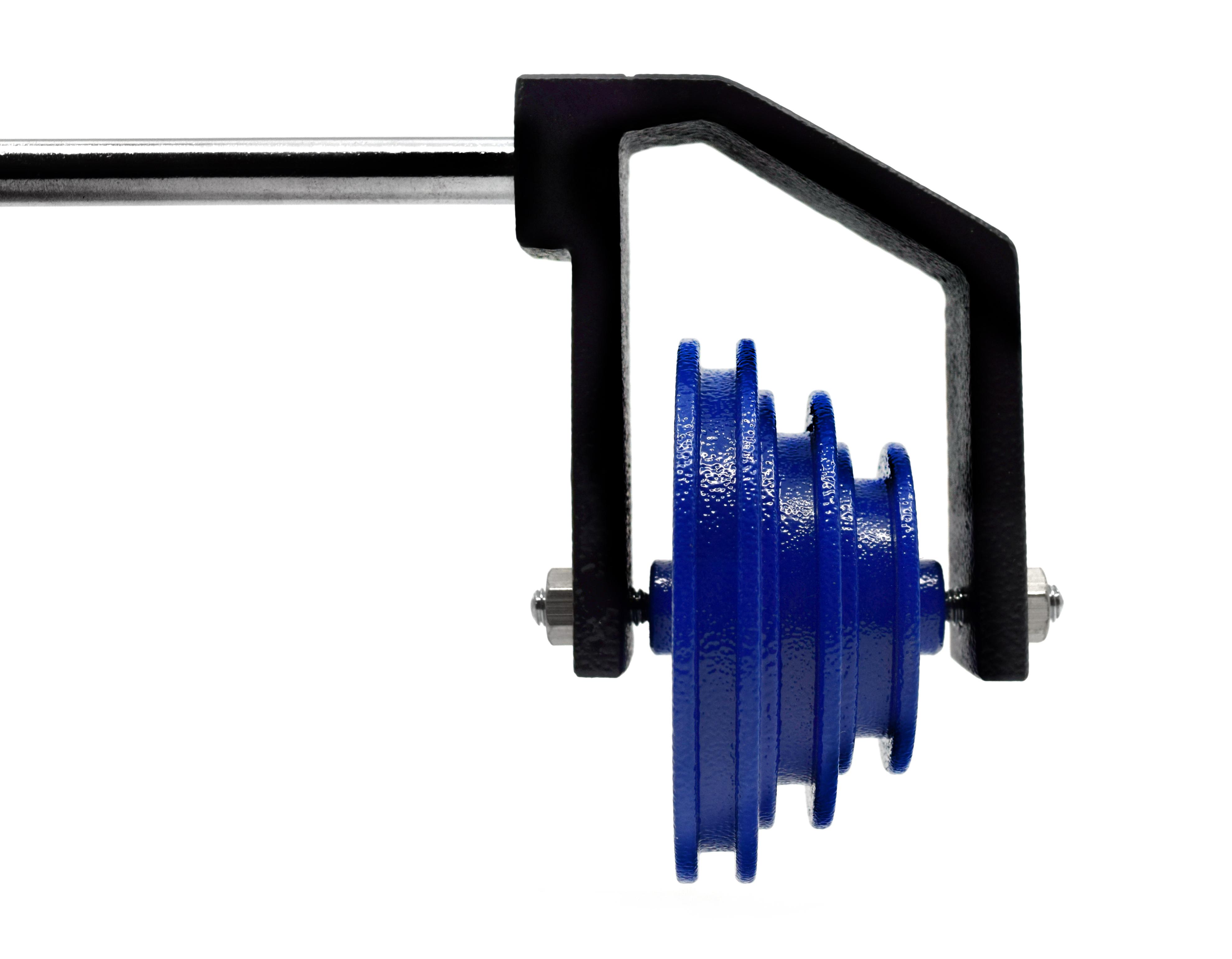 50mm Diameter Triple-Parallel Eisco Labs Plastic Pulley