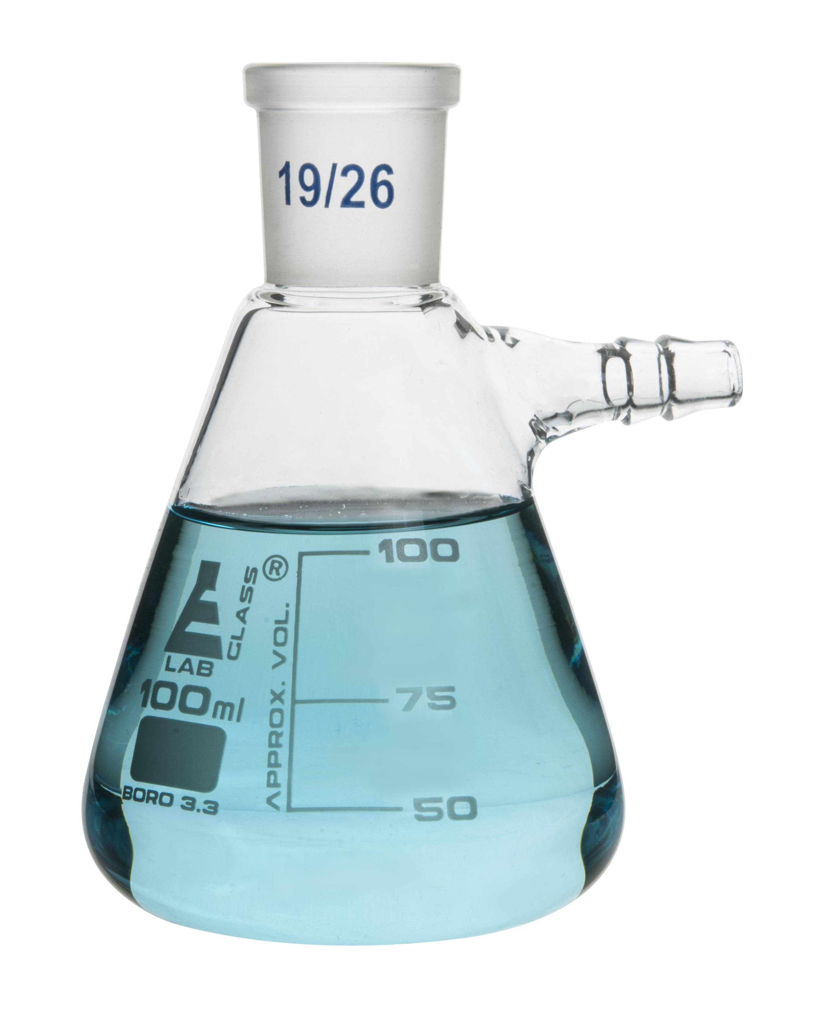 Eisco Labs Filter Flask 1000mL Borosilicate