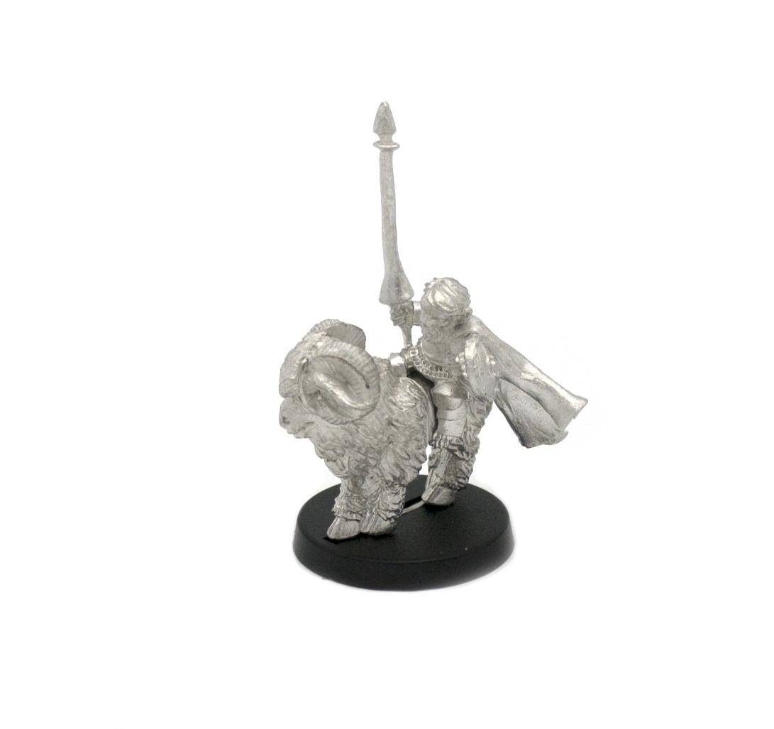 Halfling Barbarian on Raptor Mount Miniature Figure for 28mm Table top Wargames