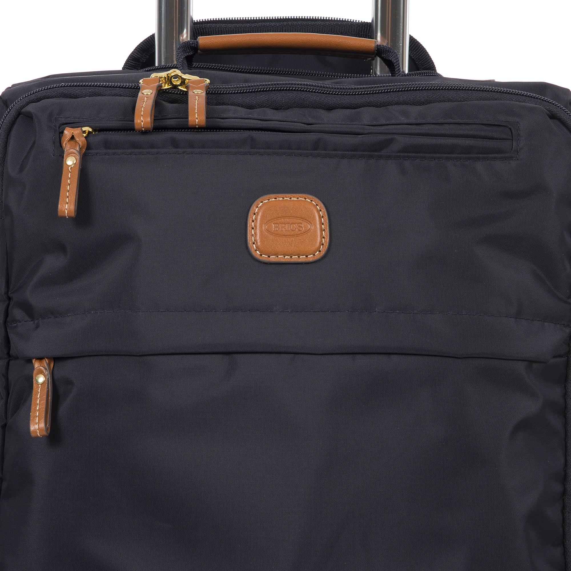 Dove Grey Brics X-Bag//x-Travel 21 Inch International Carry On Spinner W//Frame