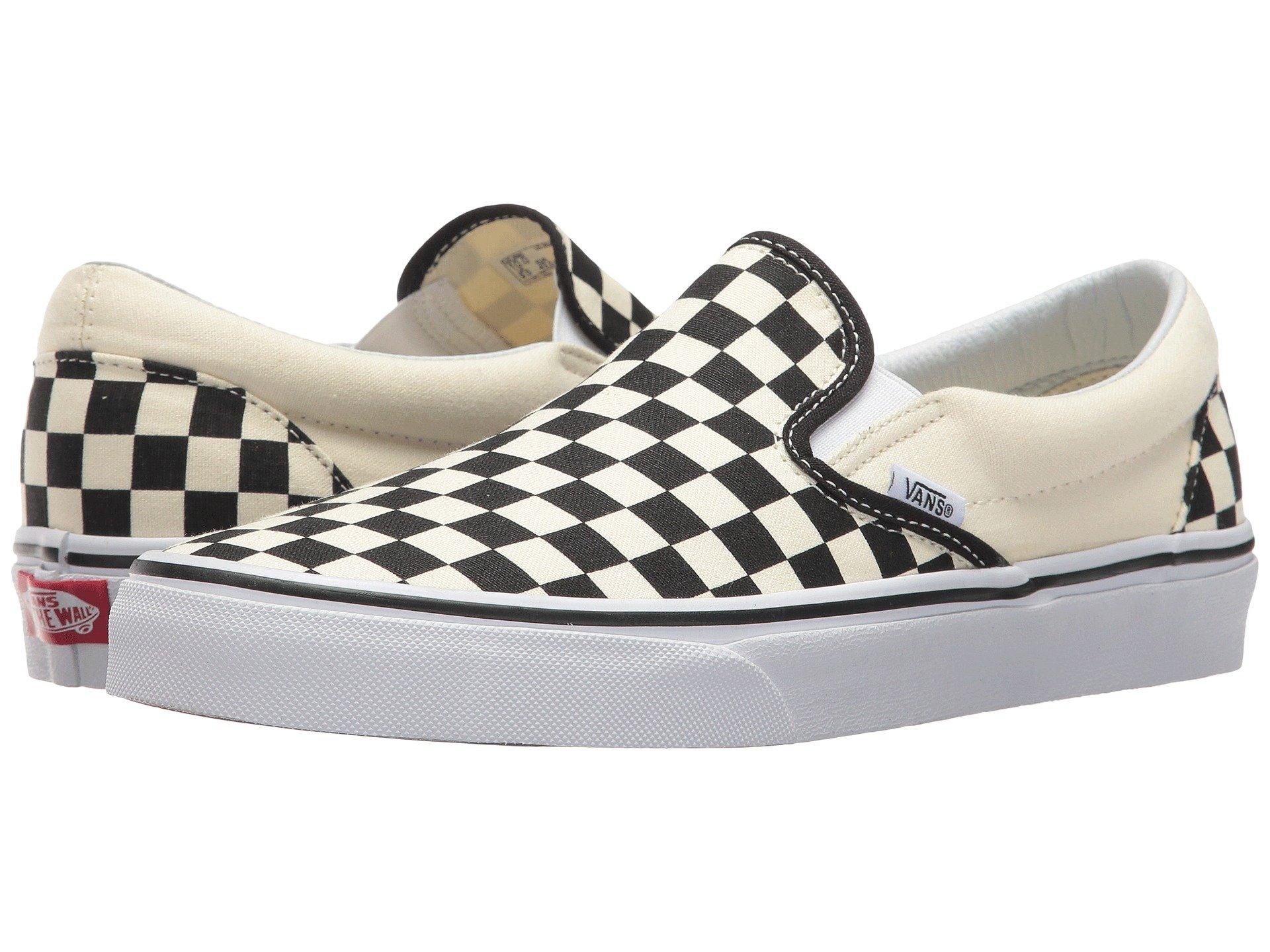 Vans Checkerboard Slip-On Unisex Black