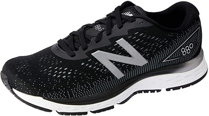 880v9 Running Shoe, Black/White, 8 2E(W