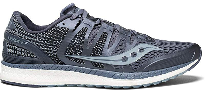 M Saucony Men/'s Liberty ISO Running Shoes US Grey//Fog 10.5 D