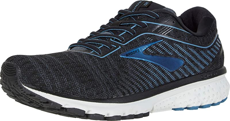 10 D Grey//Black US Brooks Men/'s Ghost 12 Running Shoes M