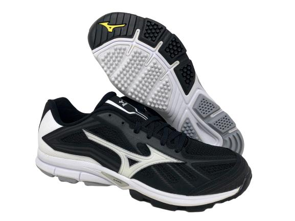 Players Trainer Baseball Shoe, Black