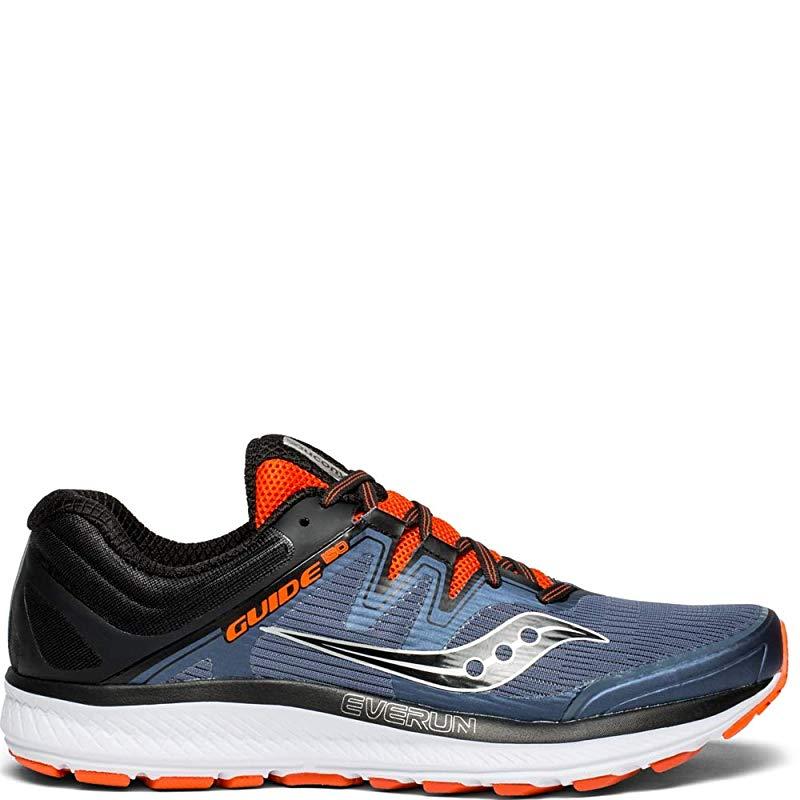 ISO Running Shoe, Grey/Black/Orange