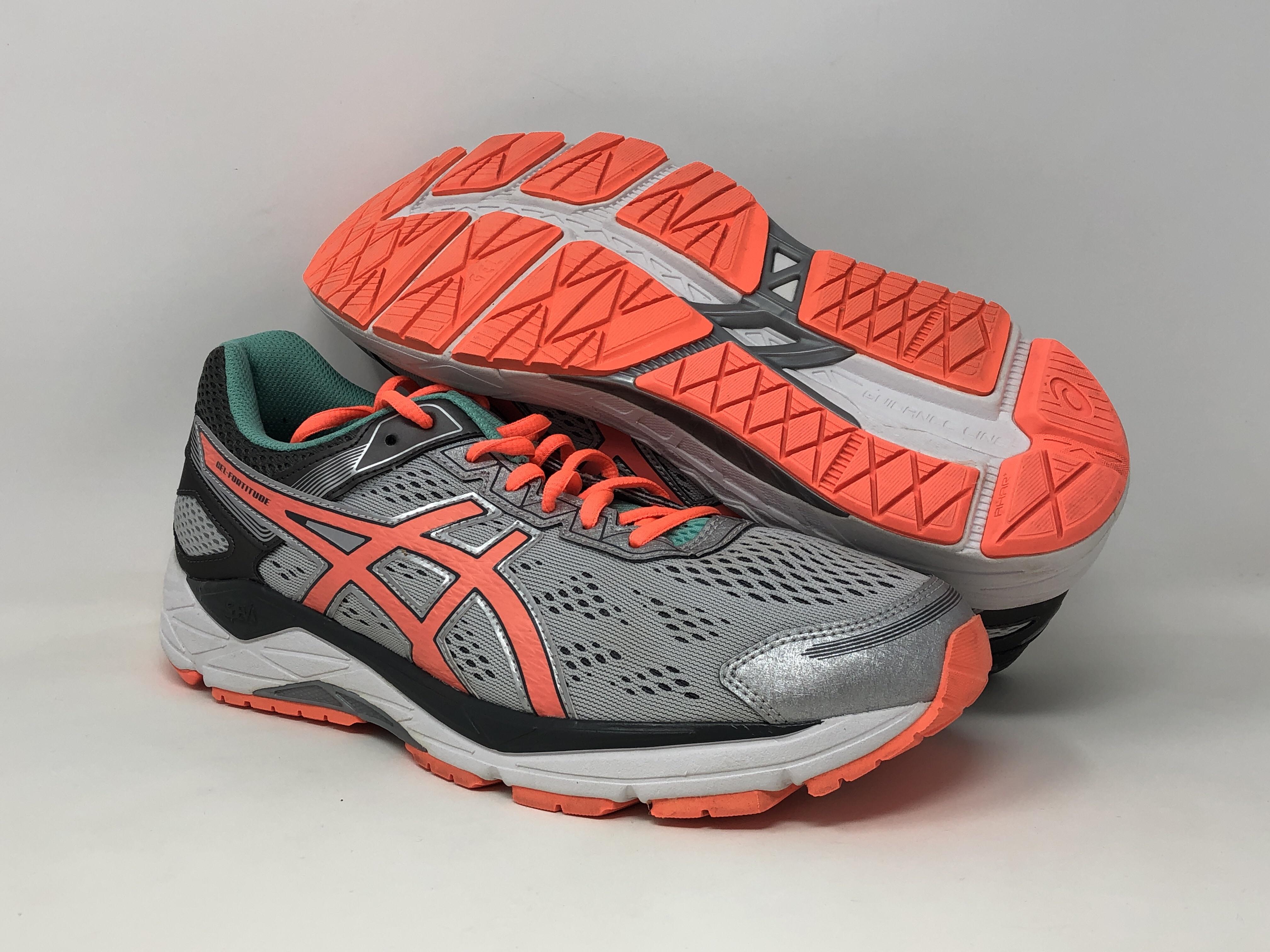 Details about ASICS Women's Gel Fortitude 7 Running Shoe, SilverCoralAqua Mint, 11 D(W) US