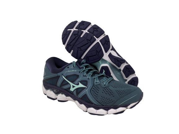 Mizuno Wave Sky Womens Running Shoes Blue