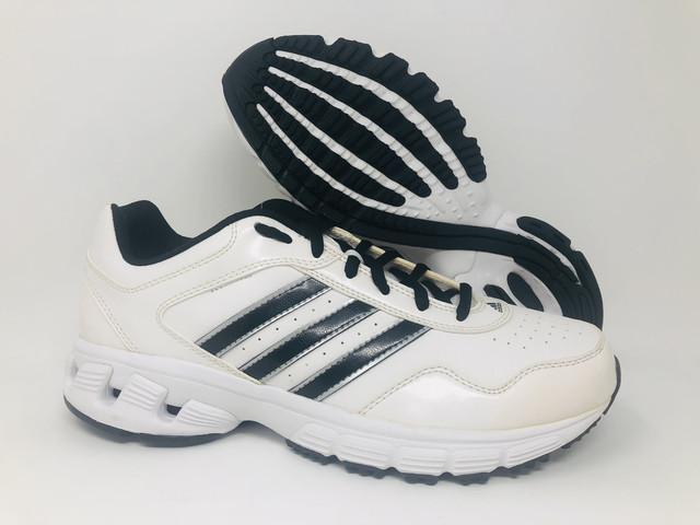adidas Men's Falcon Trainer 3 Turf Trainer, White/Black, 8 D(M) US ...