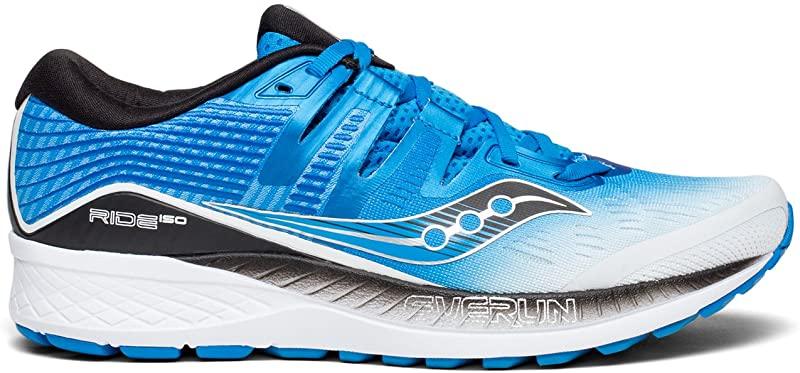 Blue//White M 10.5 D Saucony Men/'s Ride ISO Running Shoe US