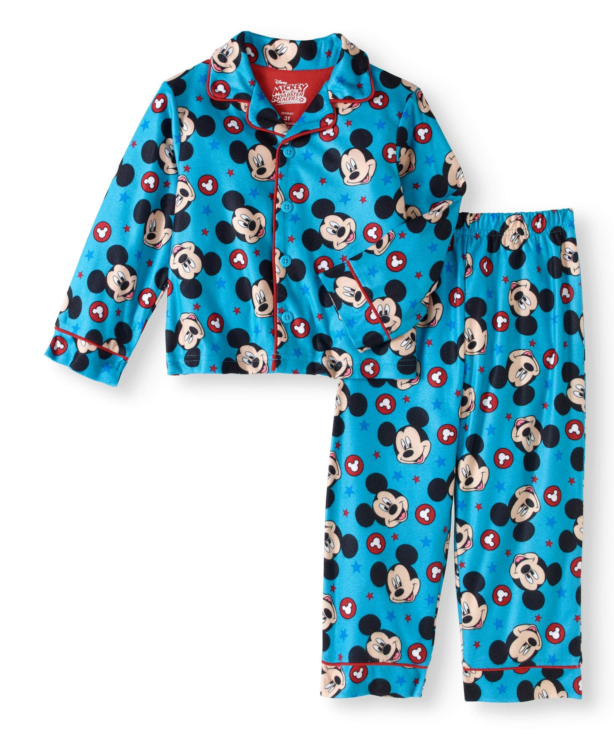 Long-Sleeve Button-Down Top /& PJ Pants Jellifish Kids Boys 2 Piece Pajama Set