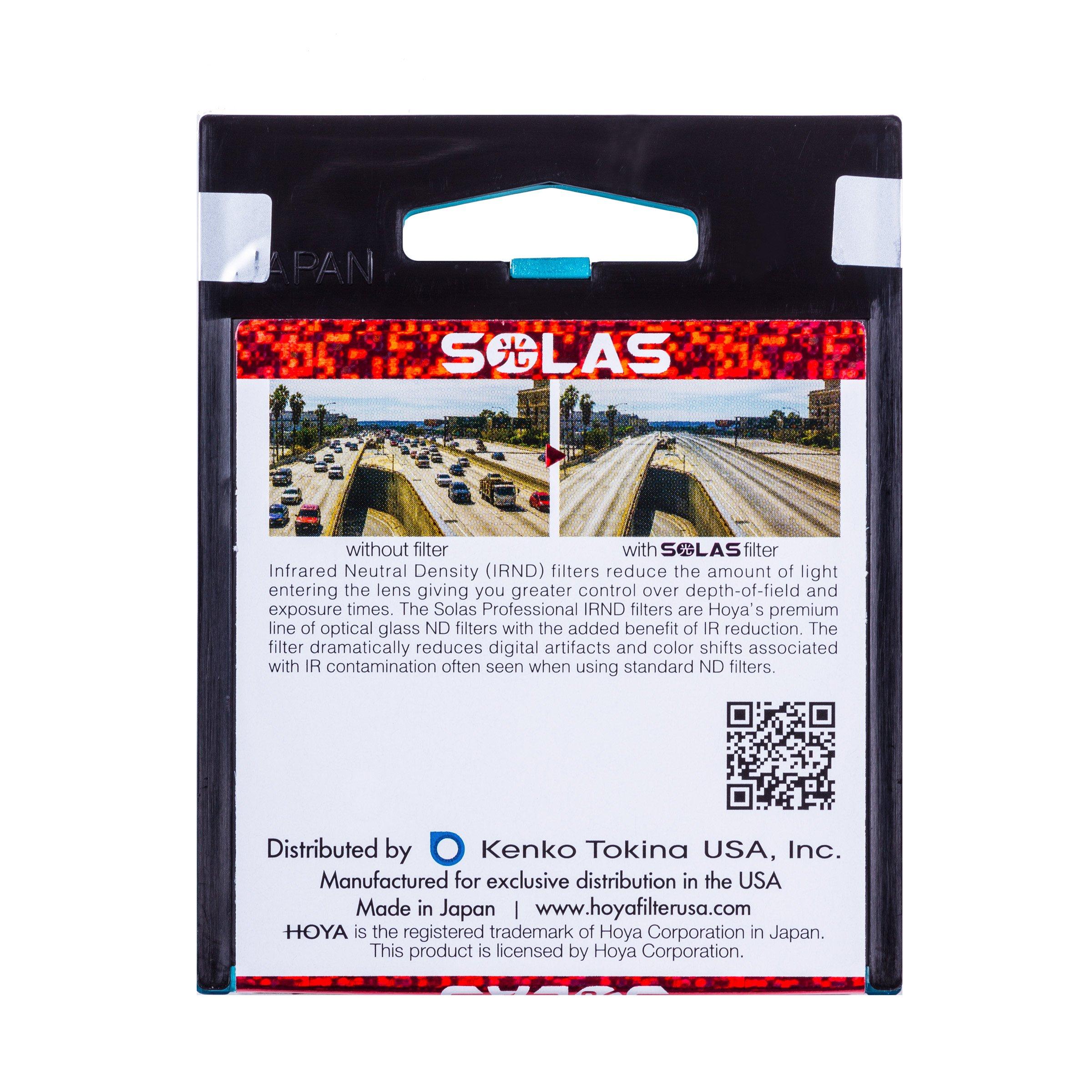 HOYA-SOLAS-ND-64-1-8-6-Stop-IRND-Neutral-Density-Filter thumbnail 7