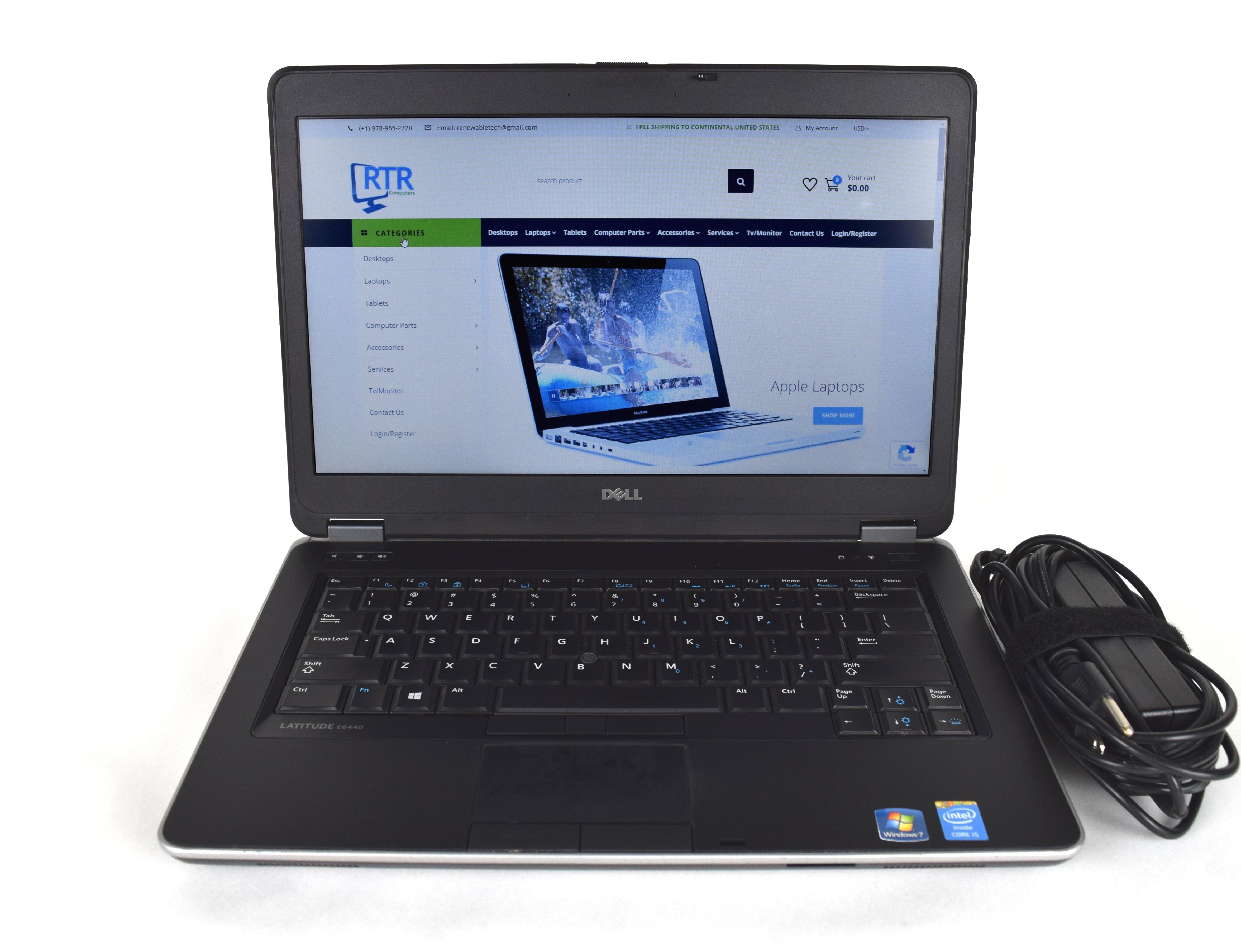 Dell Laptop Laude E6440 I7 4600m