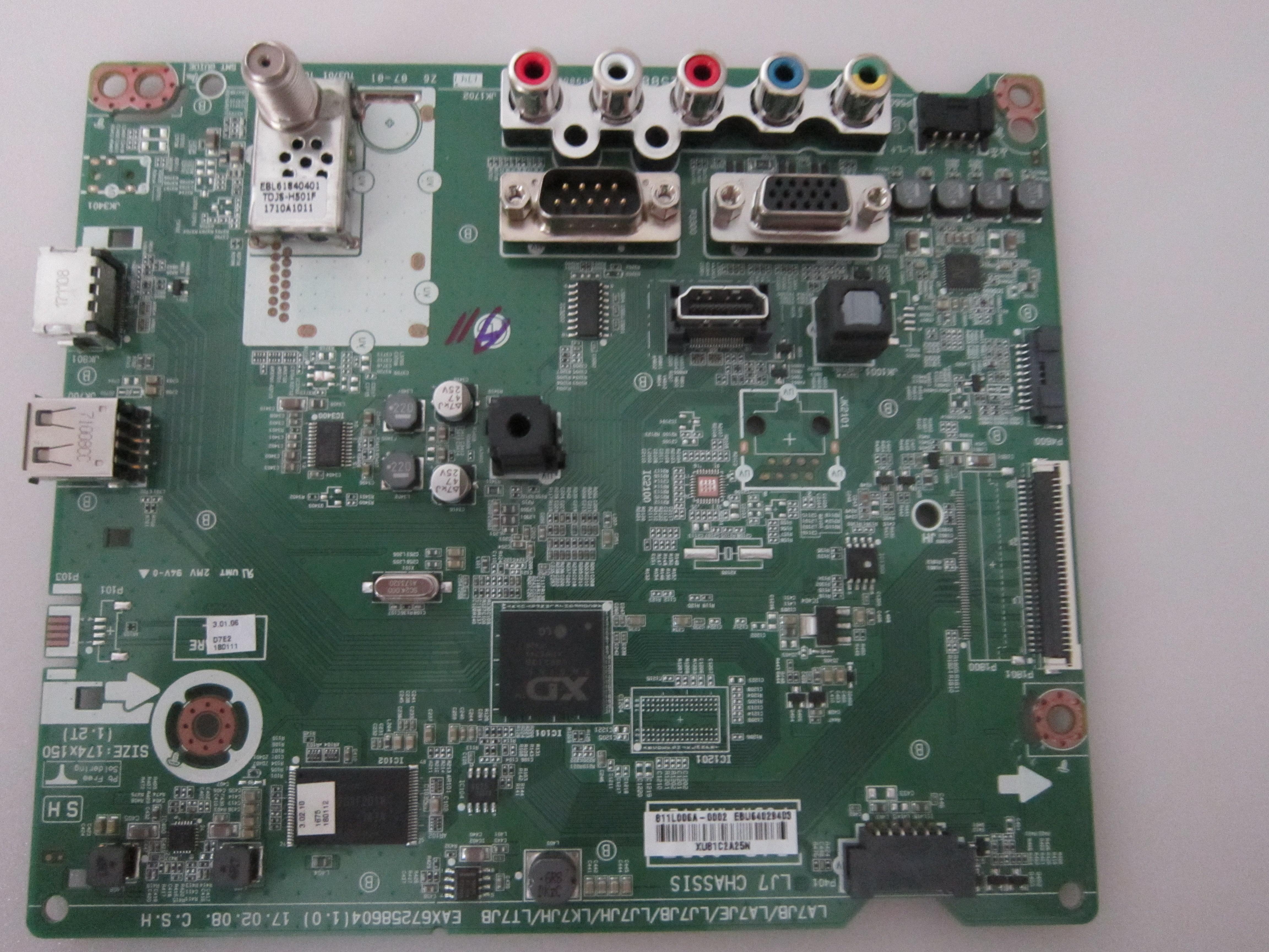EAX67258604 EBT64693102 LG 55LV340C-UB BUSYLOR Main Board