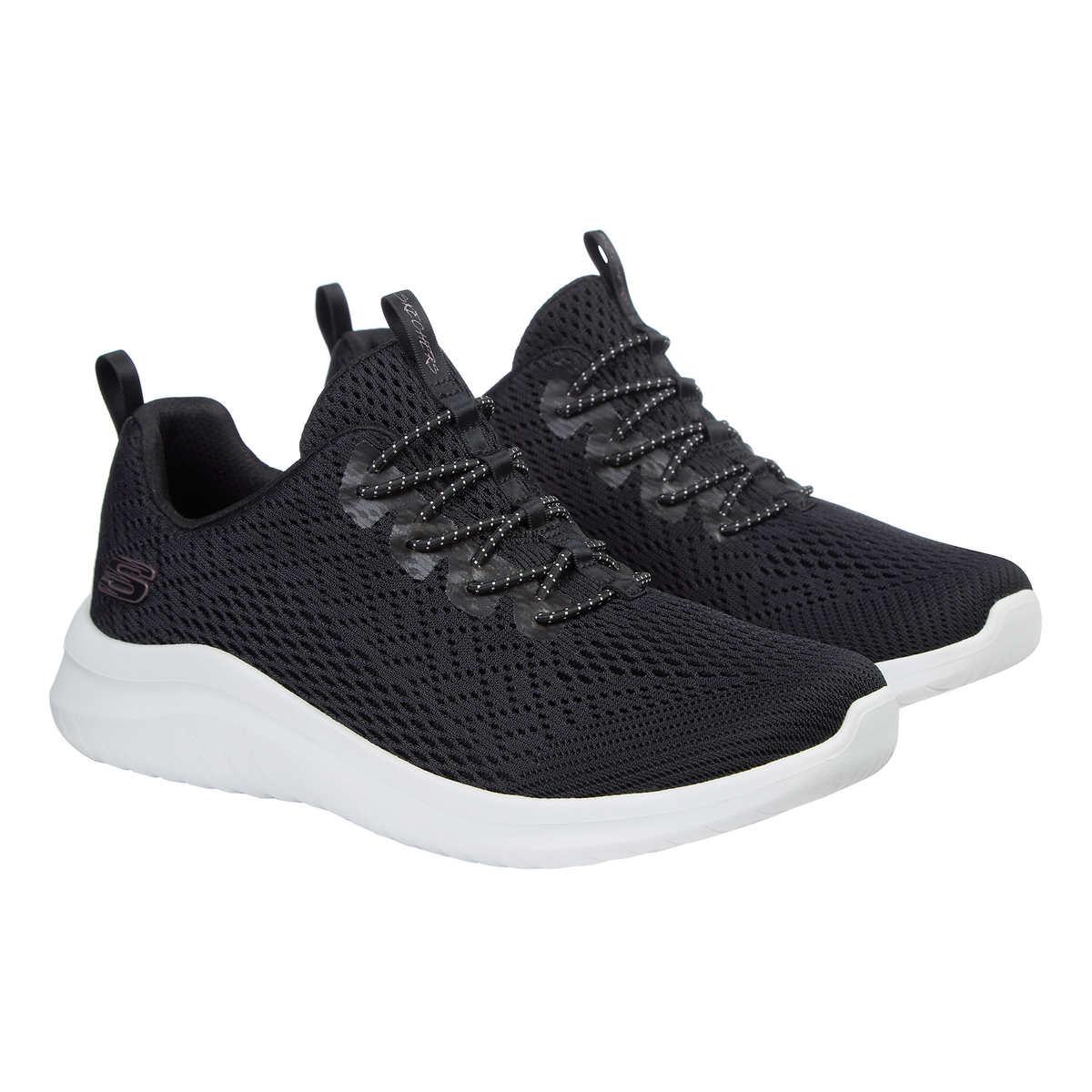 capitalismo Inseguro Colonial  Skechers Ladies Ultraflex Bungee Slip on Memory Foam Shoes Black 12550 8  for sale online   eBay